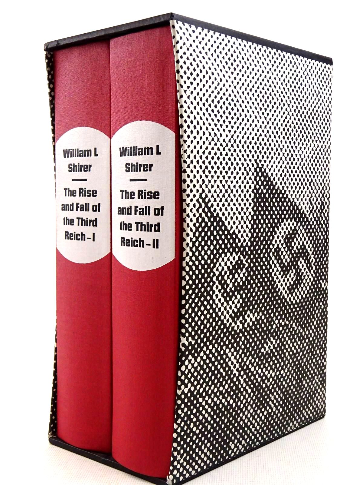Photo of THE RISE AND FALL OF THE THIRD REICH (2 VOLUMES) written by Shirer, William L. published by Folio Society (STOCK CODE: 2128968)  for sale by Stella & Rose's Books