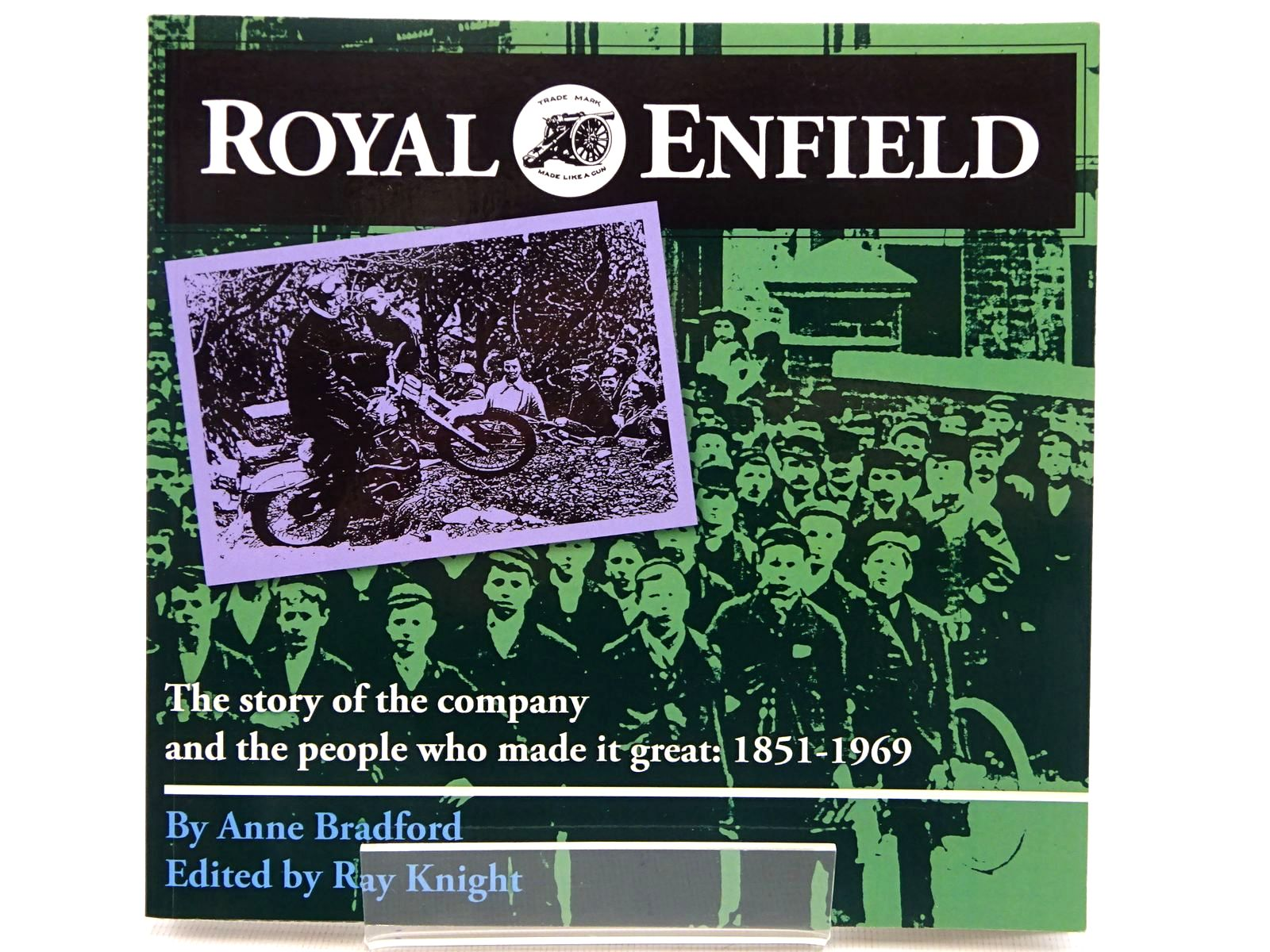 Photo of ROYAL ENFIELD FROM THE BICYCLE TO THE BULLET written by Bradford, Anne<br />Knight, Ray published by Brewin Books (STOCK CODE: 2129003)  for sale by Stella & Rose's Books