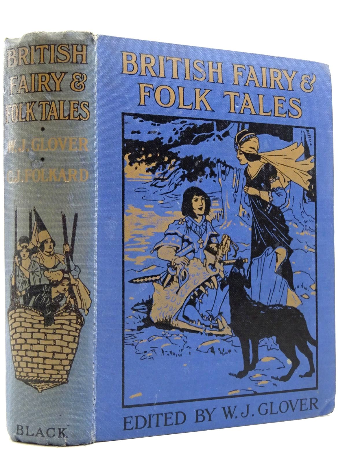 Photo of BRITISH FAIRY AND FOLK TALES written by Glover, W.J. illustrated by Folkard, Charles published by A. & C. Black Ltd. (STOCK CODE: 2129034)  for sale by Stella & Rose's Books