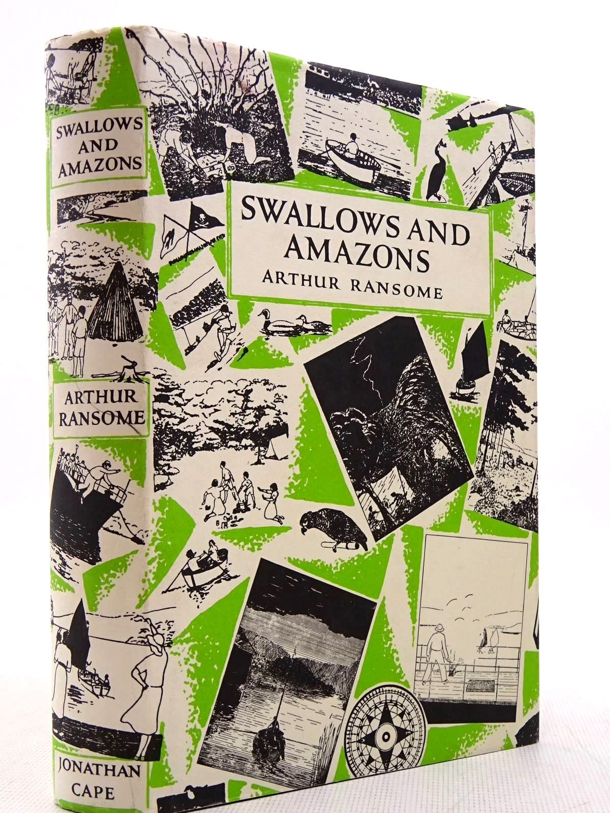 Photo of SWALLOWS AND AMAZONS written by Ransome, Arthur illustrated by Ransome, Arthur published by Jonathan Cape (STOCK CODE: 2129045)  for sale by Stella & Rose's Books
