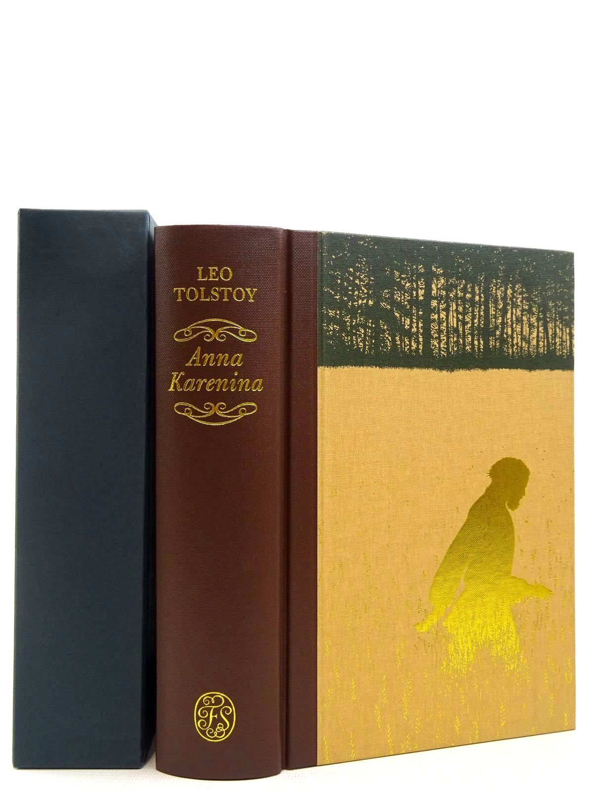 Photo of ANNA KARENINA written by Tolstoy, Leo<br />Dunmore, Helen illustrated by Barrett, Angela published by Folio Society (STOCK CODE: 2129062)  for sale by Stella & Rose's Books
