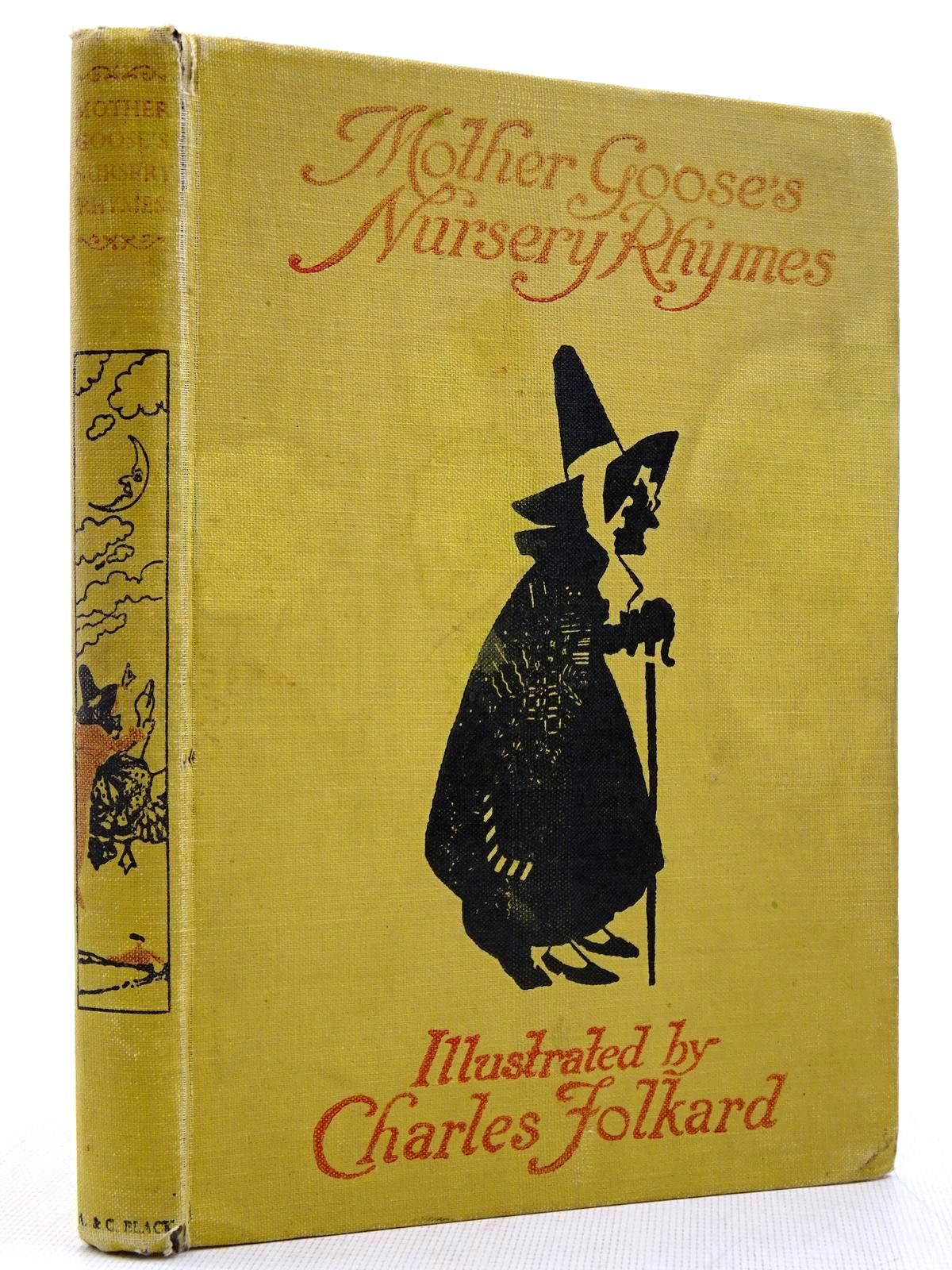 Photo of MOTHER GOOSE'S NURSERY RHYMES written by Walter, L. Edna illustrated by Folkard, Charles published by Adam & Charles Black (STOCK CODE: 2129152)  for sale by Stella & Rose's Books