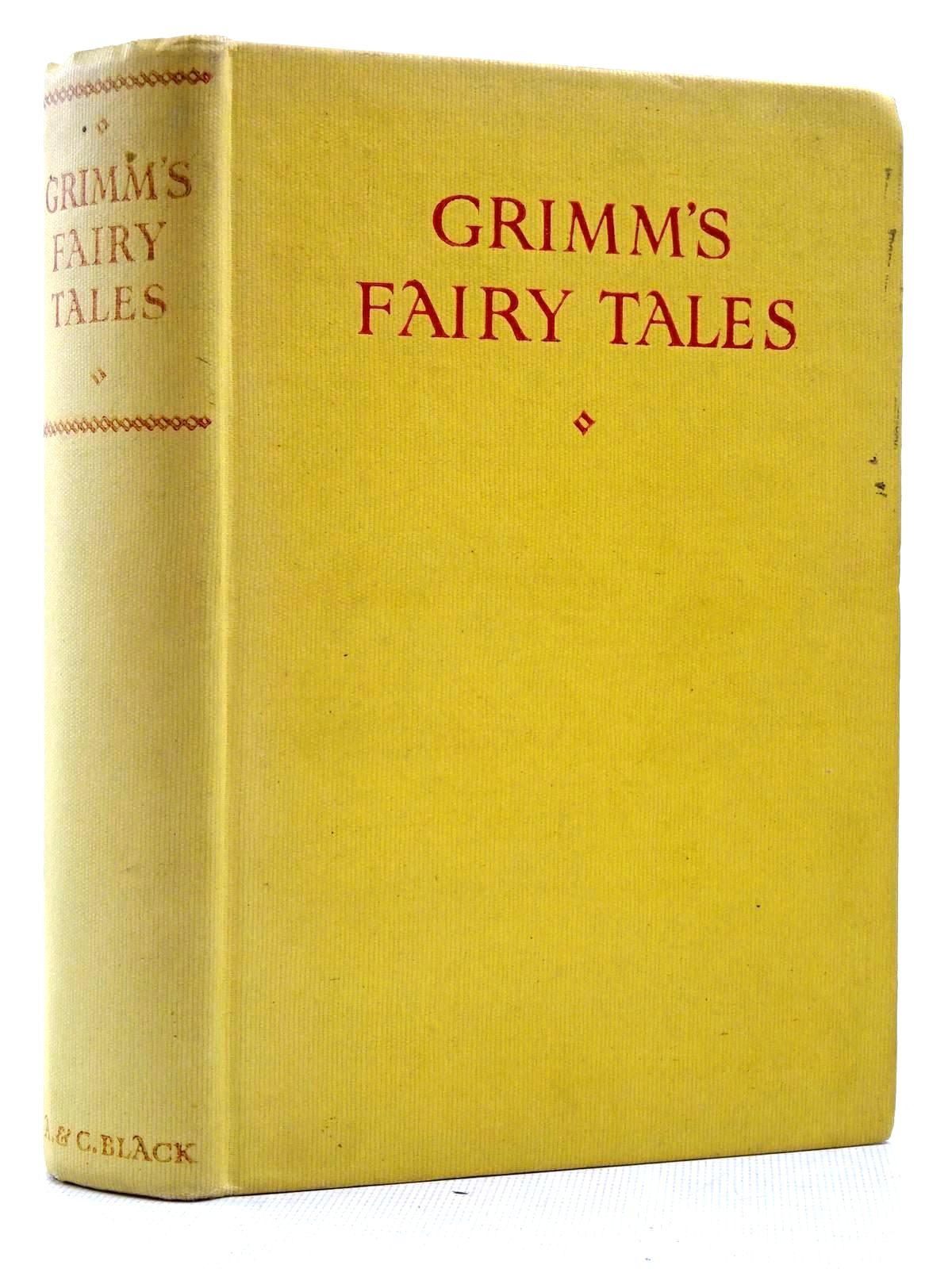 Photo of GRIMM'S FAIRY TALES written by Grimm, Brothers illustrated by Folkard, Charles published by Adam & Charles Black (STOCK CODE: 2129164)  for sale by Stella & Rose's Books