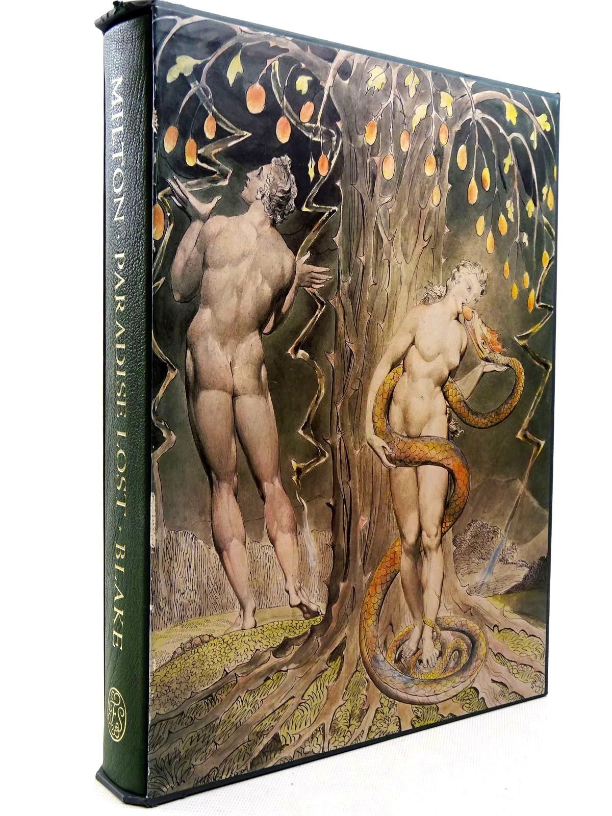 Photo of PARADISE LOST written by Milton, John<br />Ackroyd, Peter<br />Wain, John illustrated by Blake, William published by Folio Society (STOCK CODE: 2129191)  for sale by Stella & Rose's Books