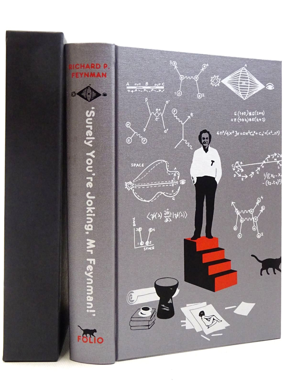 Photo of 'SURELY YOU'RE JOKING, MR FEYNMAN!' written by Feynman, Richard illustrated by Van Ryn, Aude published by Folio Society (STOCK CODE: 2129250)  for sale by Stella & Rose's Books