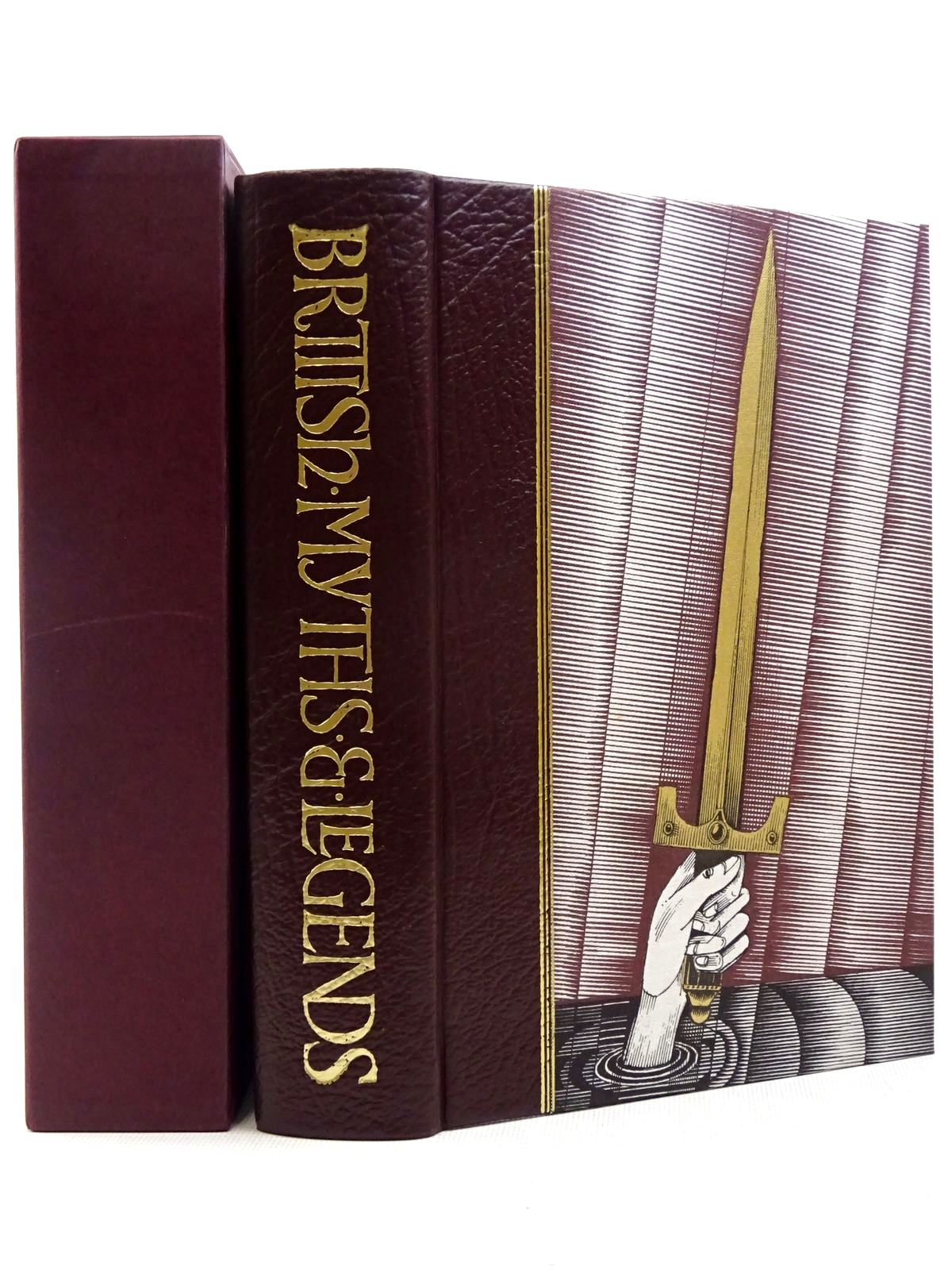 Photo of BRITISH MYTHS & LEGENDS written by Barber, Richard illustrated by Lord, John Vernon published by Folio Society (STOCK CODE: 2129260)  for sale by Stella & Rose's Books