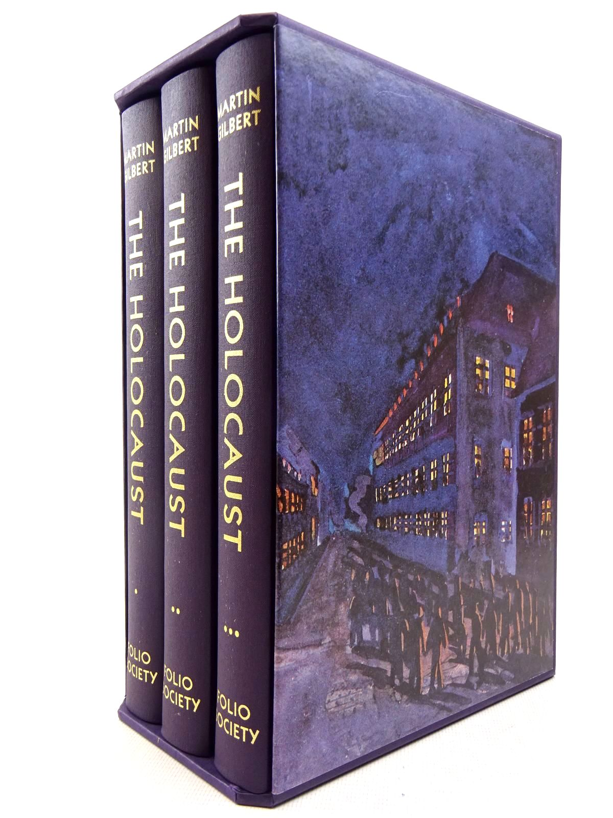 Photo of THE HOLOCAUST THE JEWISH TRAGEDY (3 VOLUMES) written by Gilbert, Martin published by Folio Society (STOCK CODE: 2129266)  for sale by Stella & Rose's Books