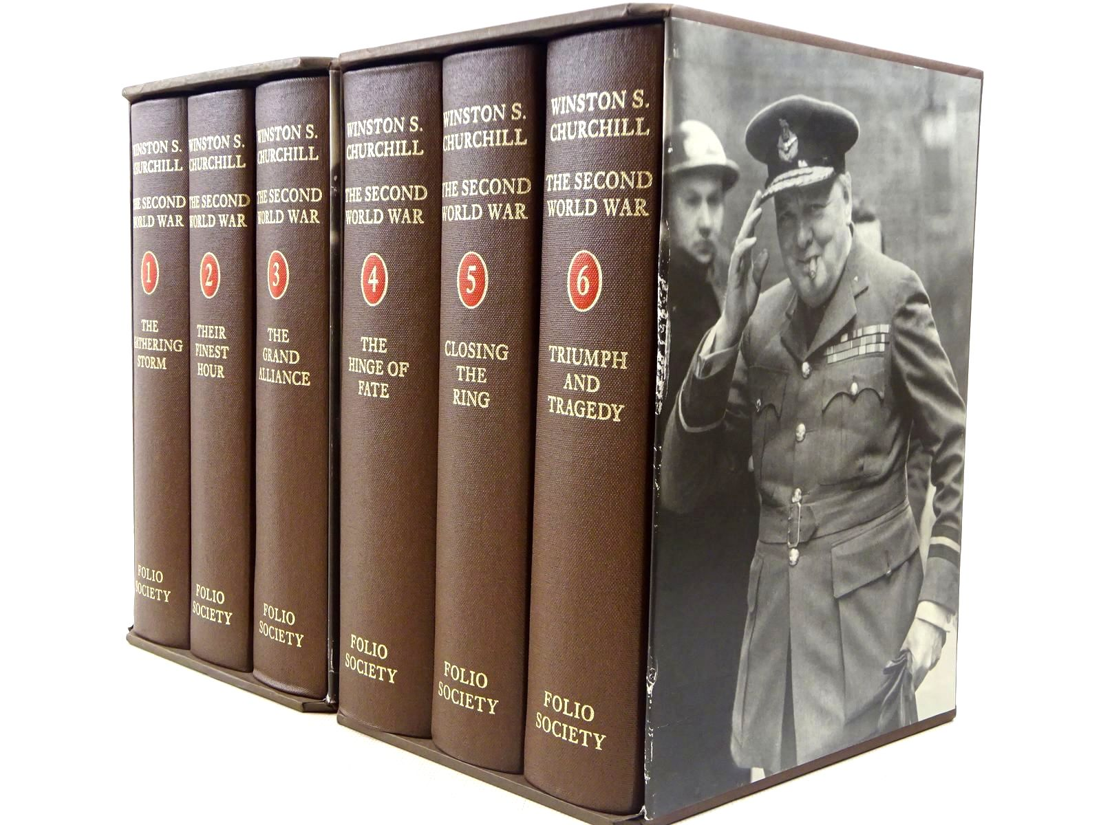 Photo of THE SECOND WORLD WAR (6 VOLUMES) written by Churchill, Winston S. published by Folio Society (STOCK CODE: 2129269)  for sale by Stella & Rose's Books