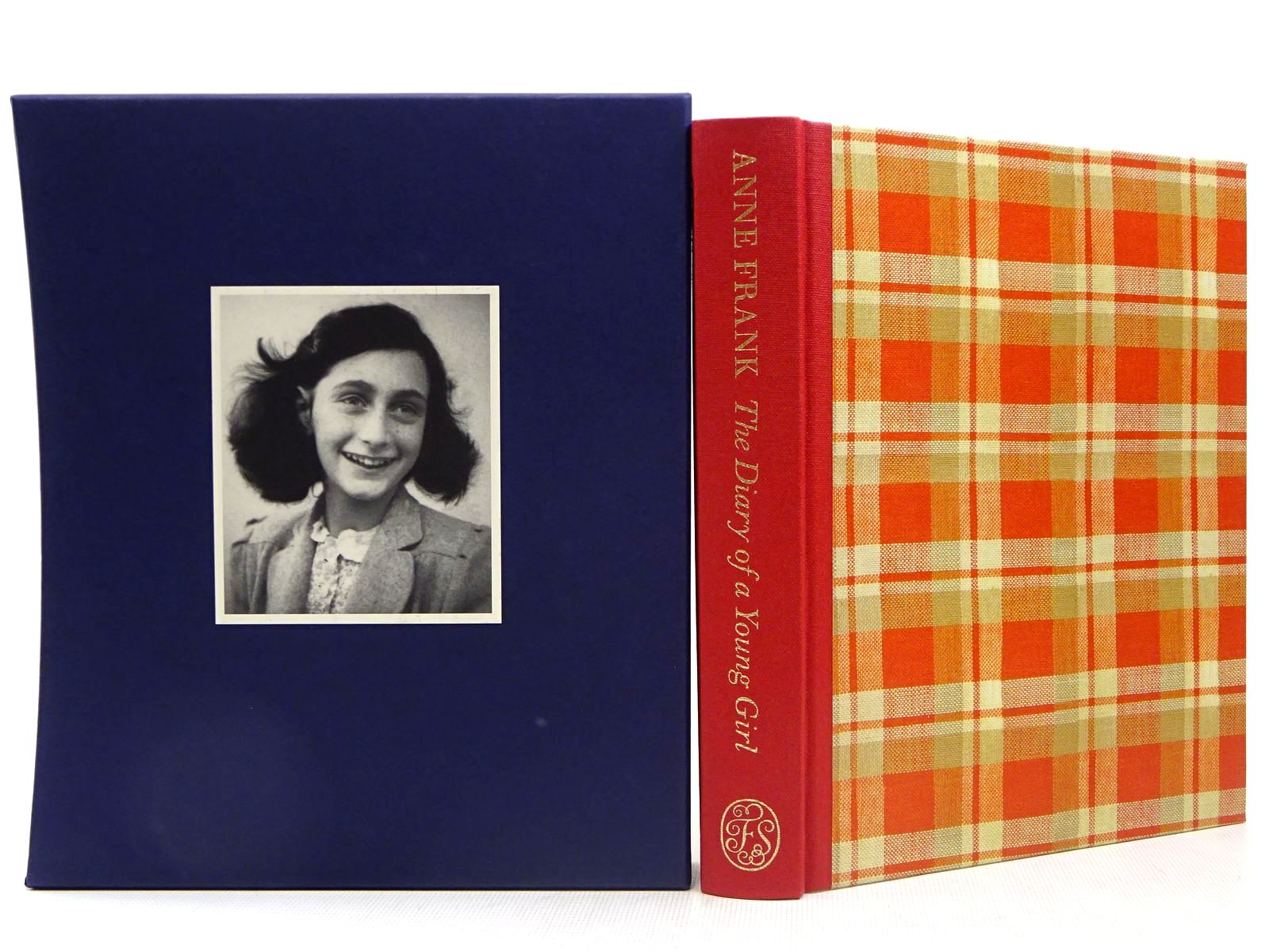 Photo of ANNE FRANK THE DIARY OF A YOUNG GIRL written by Frank, Anne published by Folio Society (STOCK CODE: 2129292)  for sale by Stella & Rose's Books