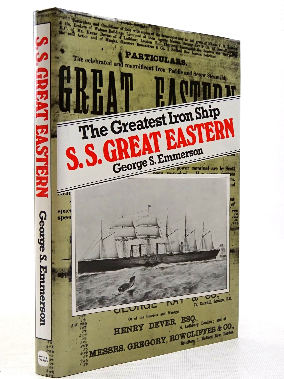 Photo of THE GREATEST IRON SHIP S.S. GREAT EASTERN written by Emmerson, George S. published by David & Charles (STOCK CODE: 2129294)  for sale by Stella & Rose's Books