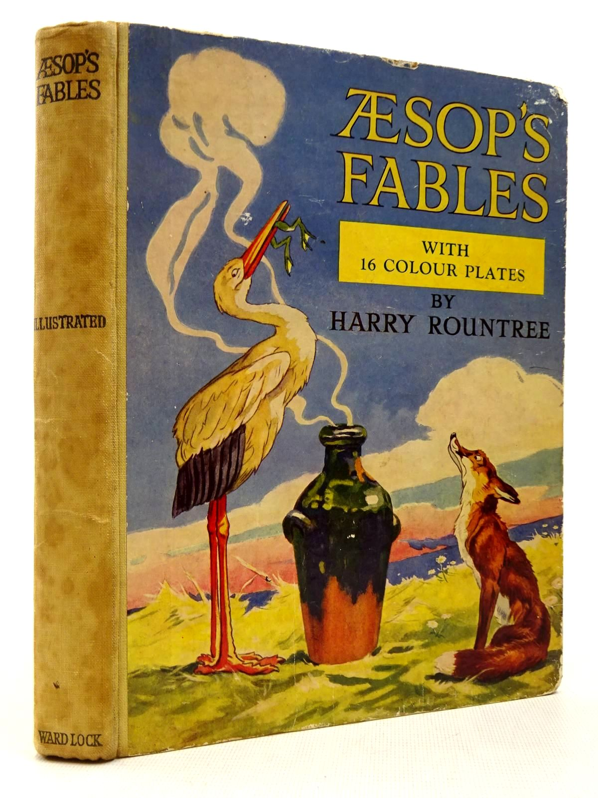 Photo of AESOP'S FABLES written by Aesop, <br />Winder, Blanche illustrated by Rountree, Harry published by Ward Lock & Co Ltd. (STOCK CODE: 2129318)  for sale by Stella & Rose's Books