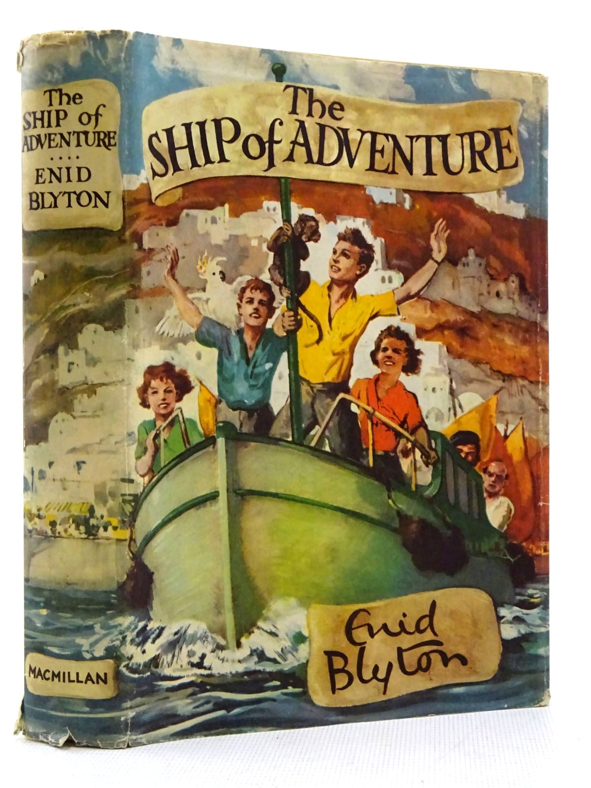 Photo of THE SHIP OF ADVENTURE written by Blyton, Enid illustrated by Tresilian, Stuart published by Macmillan & Co. Ltd. (STOCK CODE: 2129331)  for sale by Stella & Rose's Books