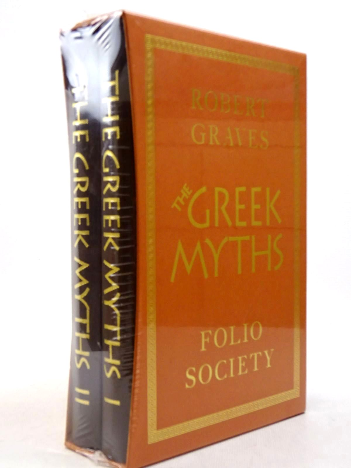 Photo of THE GREEK MYTHS (2 VOLUMES) written by Graves, Robert<br />Mcleish, Kenneth illustrated by Baker, Grahame published by Folio Society (STOCK CODE: 2129350)  for sale by Stella & Rose's Books