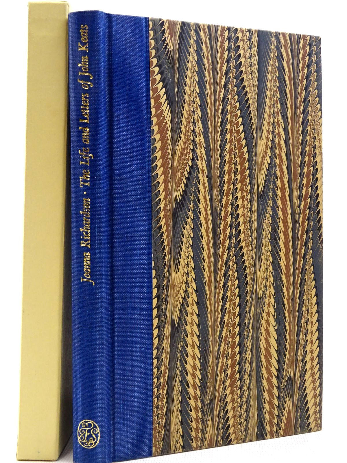 Photo of THE LIFE AND LETTERS OF JOHN KEATS written by Richardson, Joanna<br />Keats, John published by Folio Society (STOCK CODE: 2129373)  for sale by Stella & Rose's Books
