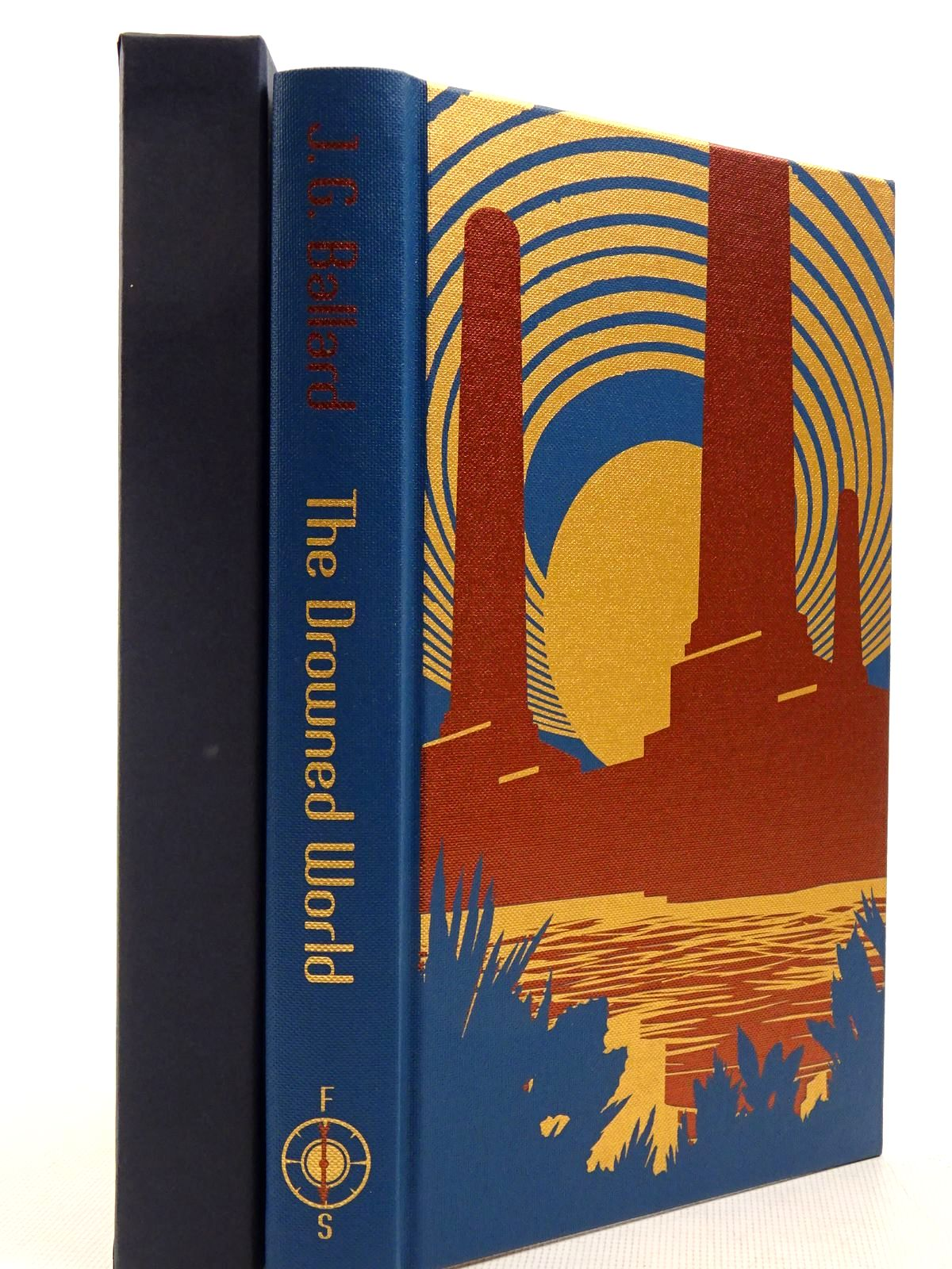 Photo of THE DROWNED WORLD written by Ballard, J.G.<br />Self, Will illustrated by Boswell, James published by Folio Society (STOCK CODE: 2129374)  for sale by Stella & Rose's Books