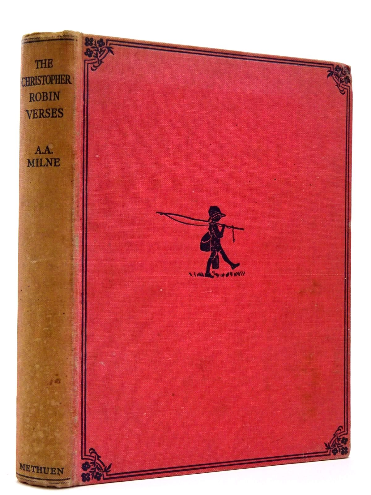 Photo of THE CHRISTOPHER ROBIN VERSES written by Milne, A.A. illustrated by Shepard, E.H. published by Methuen & Co. Ltd. (STOCK CODE: 2129406)  for sale by Stella & Rose's Books