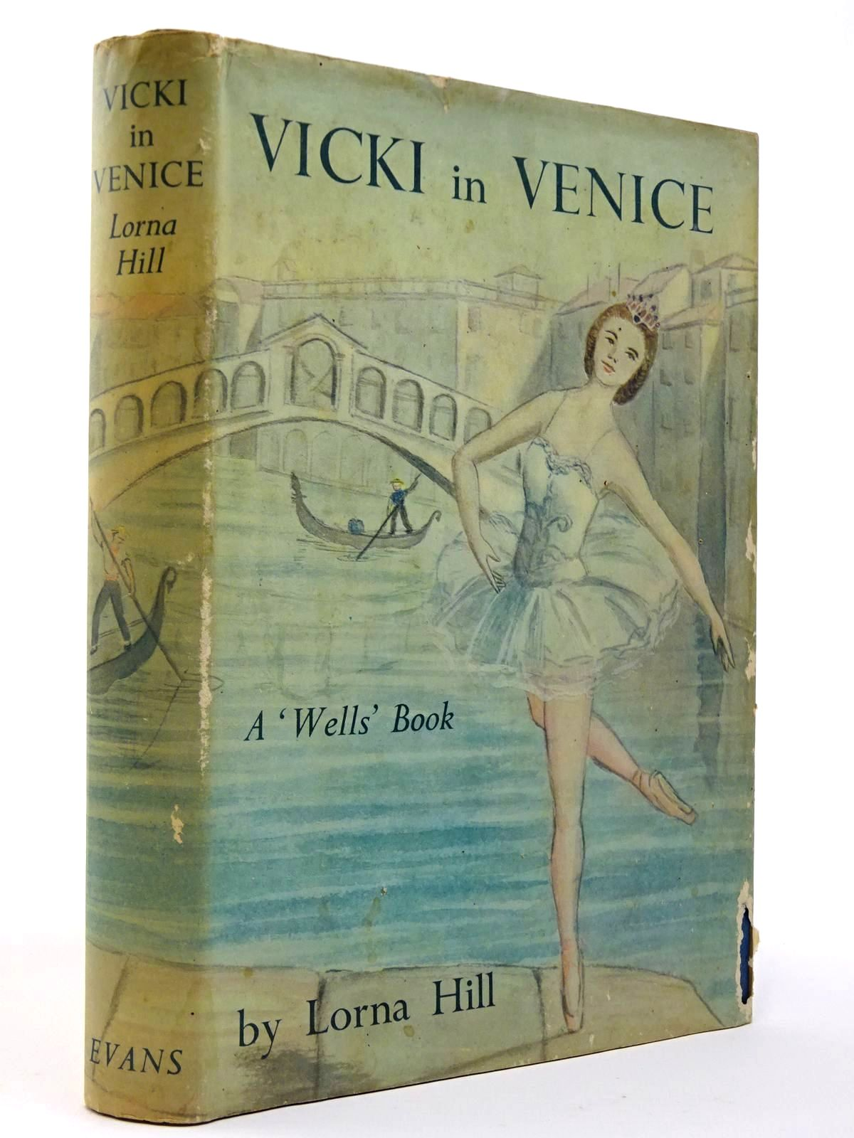 Photo of VICKI IN VENICE written by Hill, Lorna illustrated by Verity, Esme published by Evans Brothers Limited (STOCK CODE: 2129429)  for sale by Stella & Rose's Books
