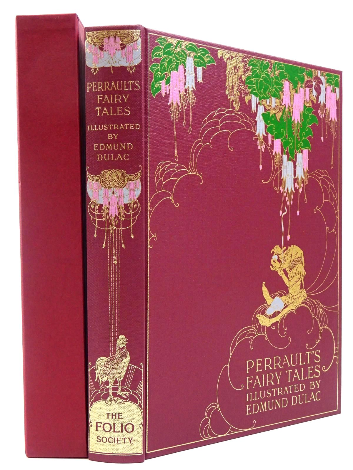 Photo of THE FAIRY TALES OF CHARLES PERRAULT written by Perrault, Charles illustrated by Dulac, Edmund published by Folio Society (STOCK CODE: 2129439)  for sale by Stella & Rose's Books