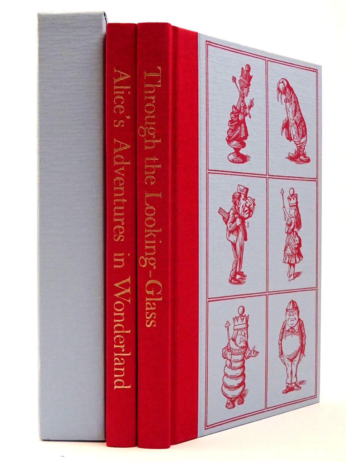 Photo of ALICE'S ADVENTURES IN WONDERLAND AND THROUGH THE LOOKING GLASS (TWO VOLUMES) written by Carroll, Lewis illustrated by Tenniel, John published by Folio Society (STOCK CODE: 2129470)  for sale by Stella & Rose's Books