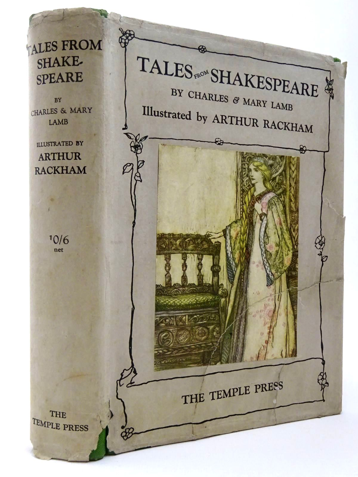 Photo of TALES FROM SHAKESPEARE written by Lamb, Charles<br />Lamb, Mary<br />Shakespeare, William illustrated by Rackham, Arthur published by Temple Press (STOCK CODE: 2129484)  for sale by Stella & Rose's Books
