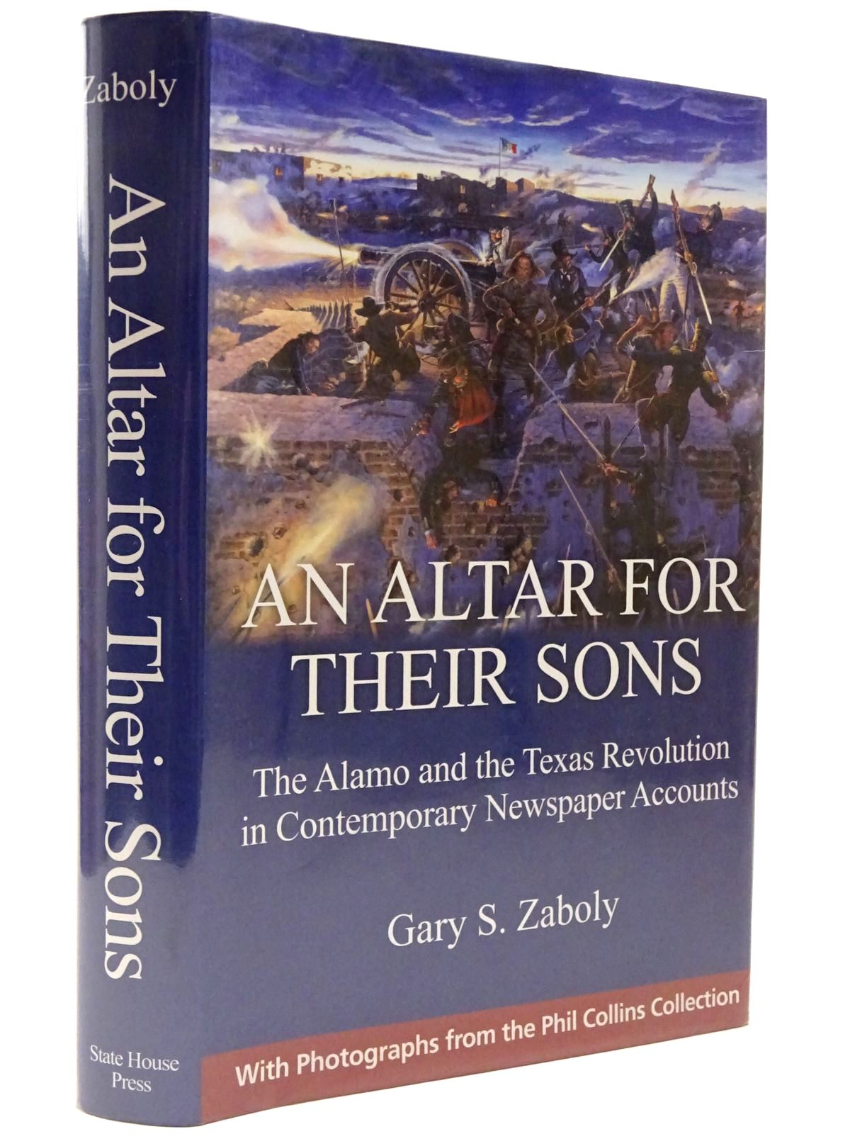 Photo of AN ALTAR FOR THEIR SONS written by Zaboldy, Gary S. published by State House Press (STOCK CODE: 2129514)  for sale by Stella & Rose's Books