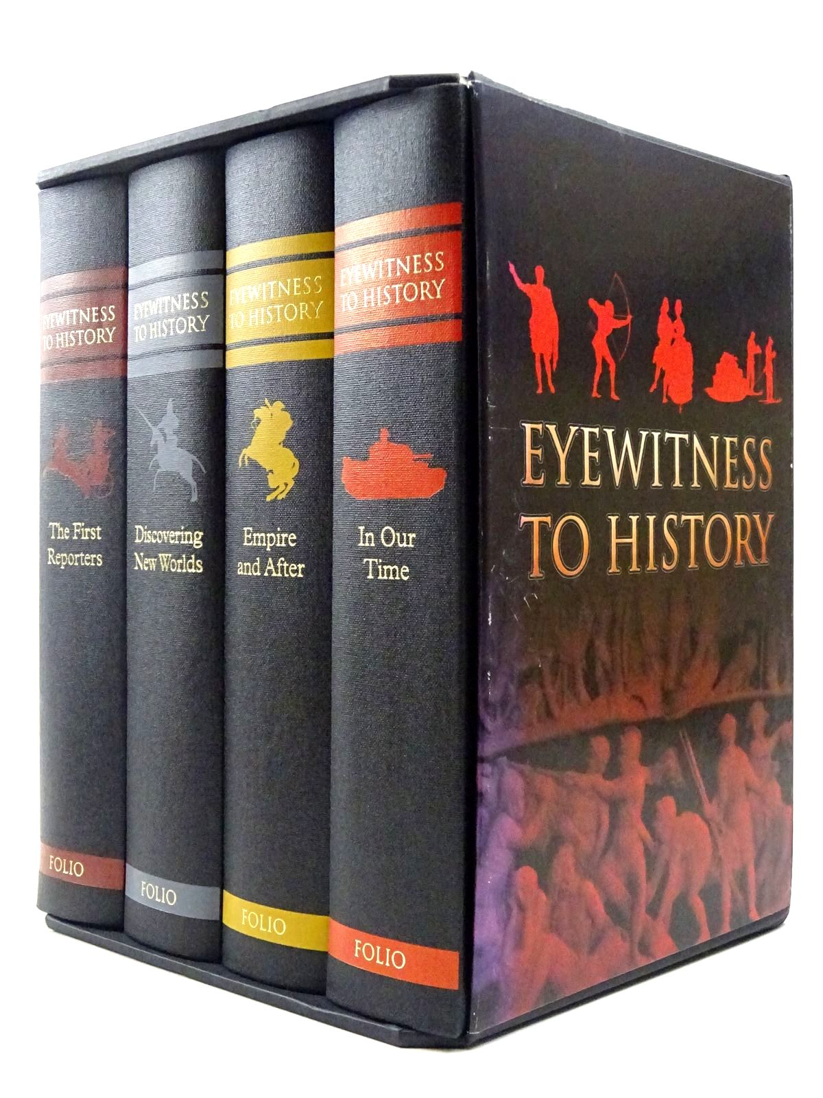 Photo of EYEWITNESS TO HISTORY written by Fox, Robert published by Folio Society (STOCK CODE: 2129522)  for sale by Stella & Rose's Books
