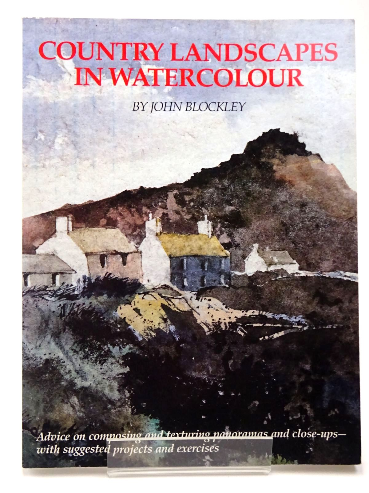 Photo of COUNTRY LANDSCAPES IN WATERCOLOUR written by Blockley, John illustrated by Blockley, John published by Phaidon (STOCK CODE: 2129596)  for sale by Stella & Rose's Books