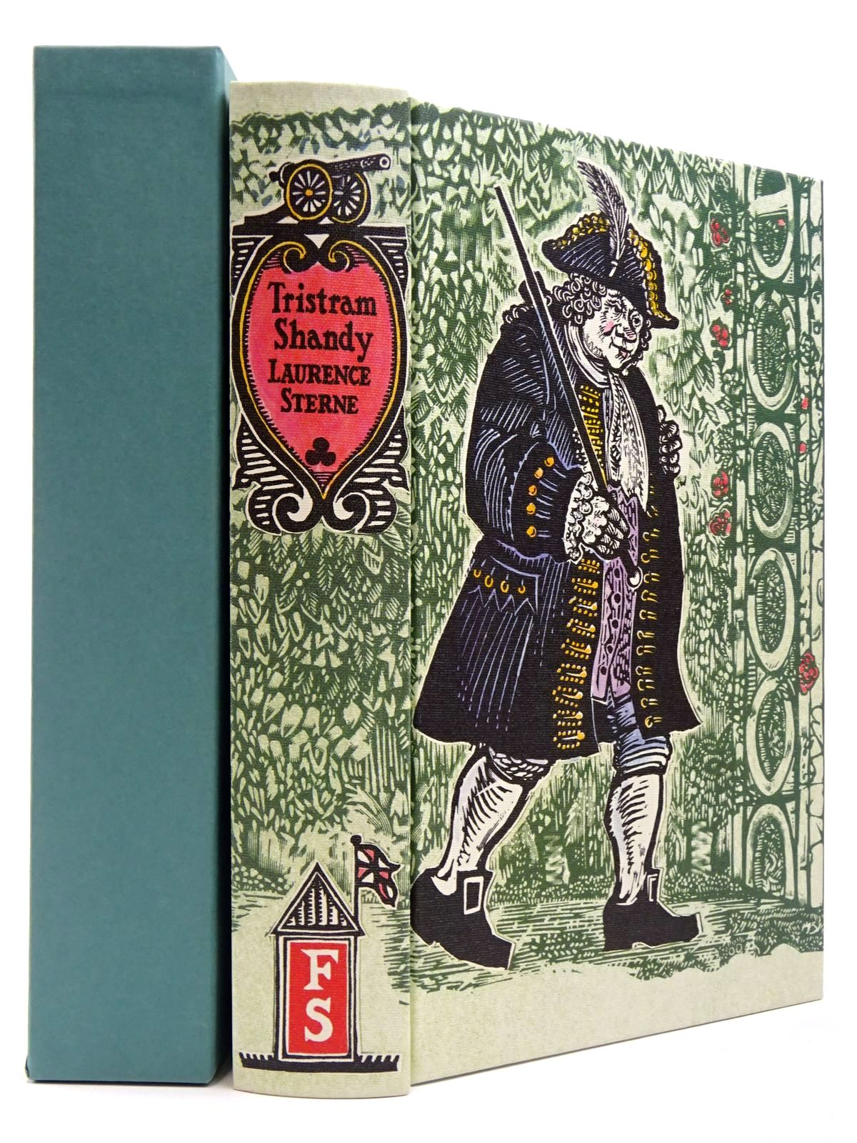 Photo of THE LIFE AND OPINIONS OF TRISTRAM SHANDY GENTLEMAN written by Sterne, Laurence illustrated by Lawrence, John published by Folio Society (STOCK CODE: 2129632)  for sale by Stella & Rose's Books