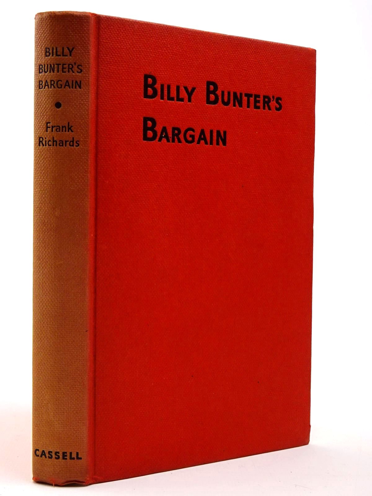Photo of BILLY BUNTER'S BARGAIN written by Richards, Frank illustrated by Chapman, C.H. published by Cassell & Co. Ltd. (STOCK CODE: 2129663)  for sale by Stella & Rose's Books
