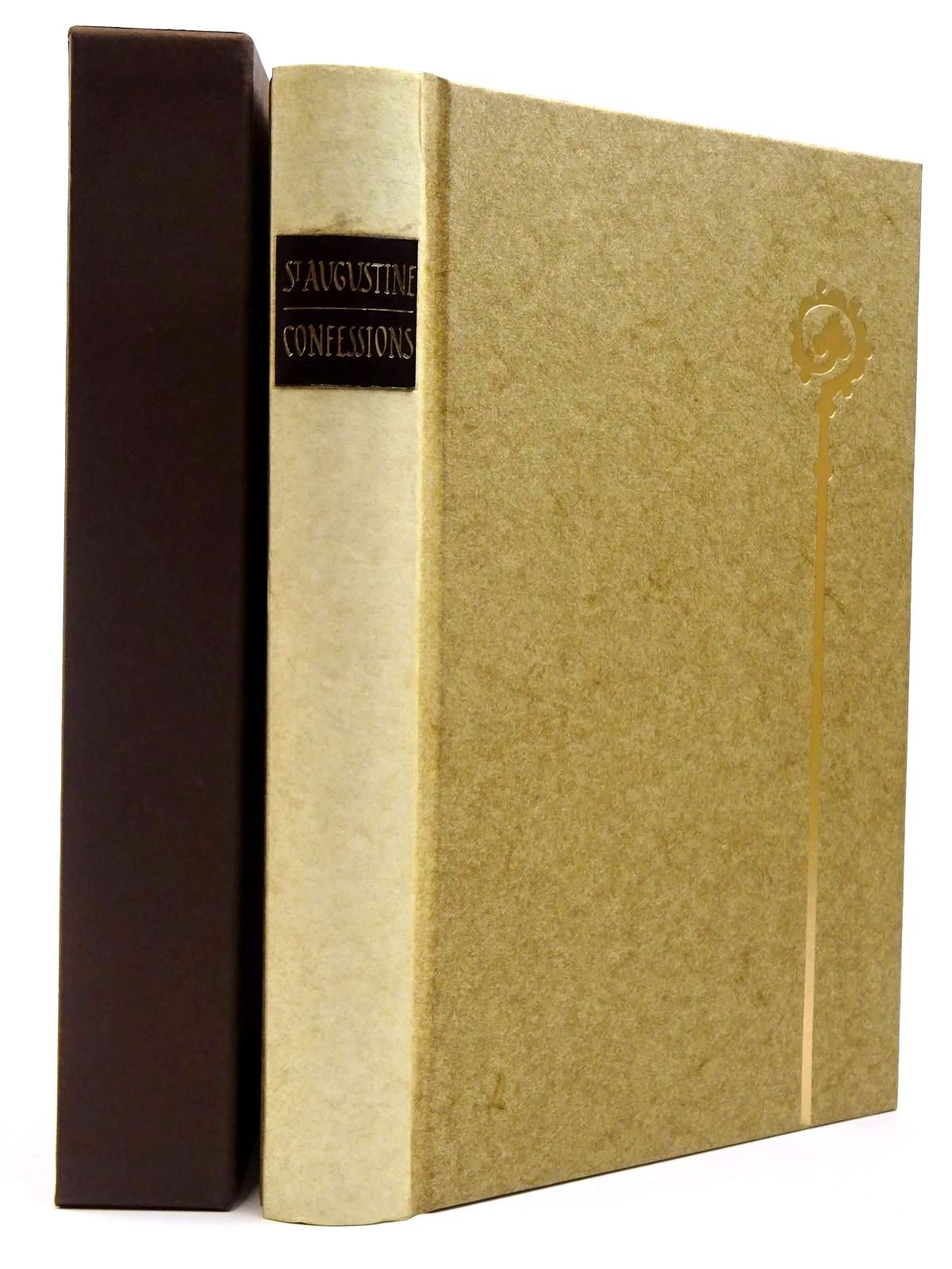 Photo of ST AUGUSTINE BISHOP OF HIPPO CONFESSIONS written by Pilkington, J.G.<br />Lovill, Justin illustrated by Brett, Simon published by Folio Society (STOCK CODE: 2129689)  for sale by Stella & Rose's Books