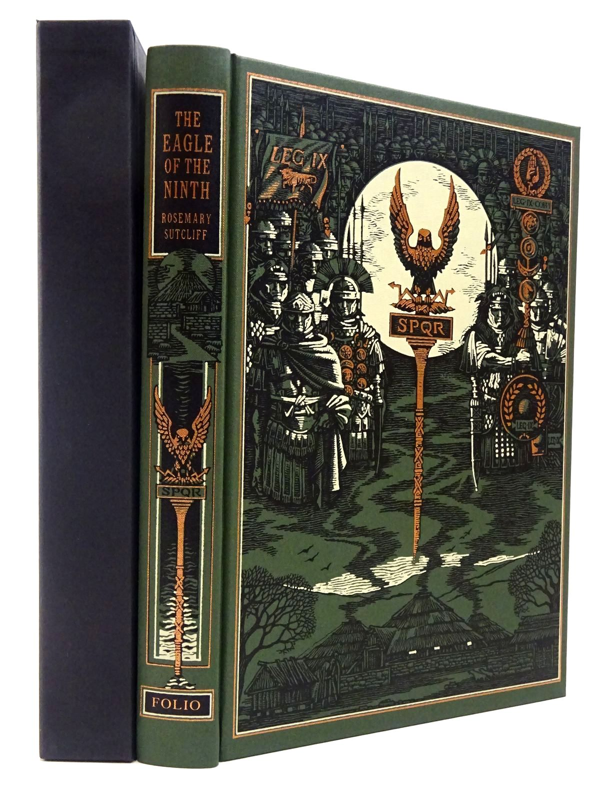 Photo of THE EAGLE OF THE NINTH written by Sutcliff, Rosemary illustrated by Pisarev, Roman published by Folio Society (STOCK CODE: 2129704)  for sale by Stella & Rose's Books