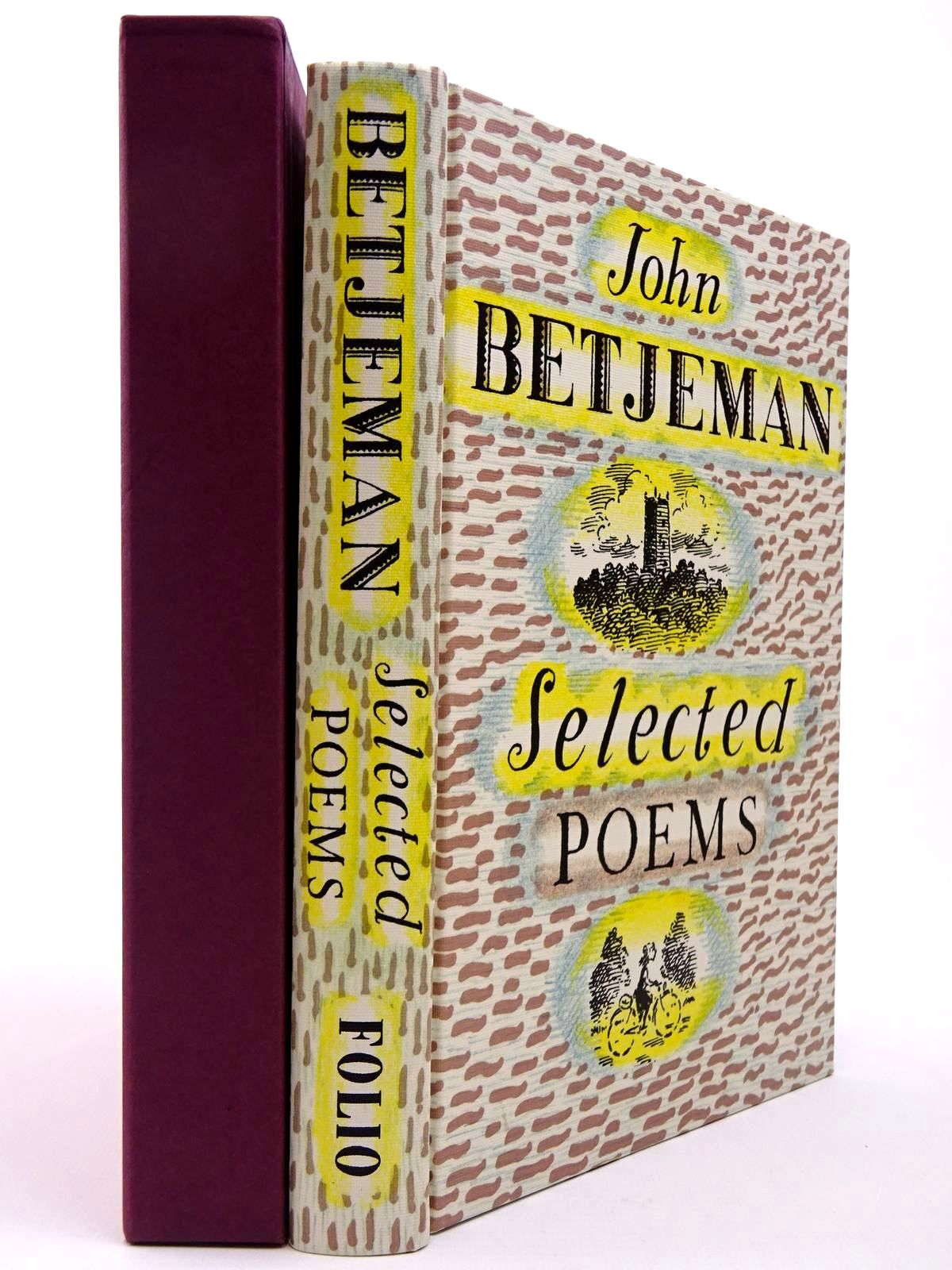 Photo of JOHN BETJEMAN SELECTED POEMS written by Betjeman, John<br />Powers, Alan illustrated by Bailey, Peter published by Folio Society (STOCK CODE: 2129708)  for sale by Stella & Rose's Books