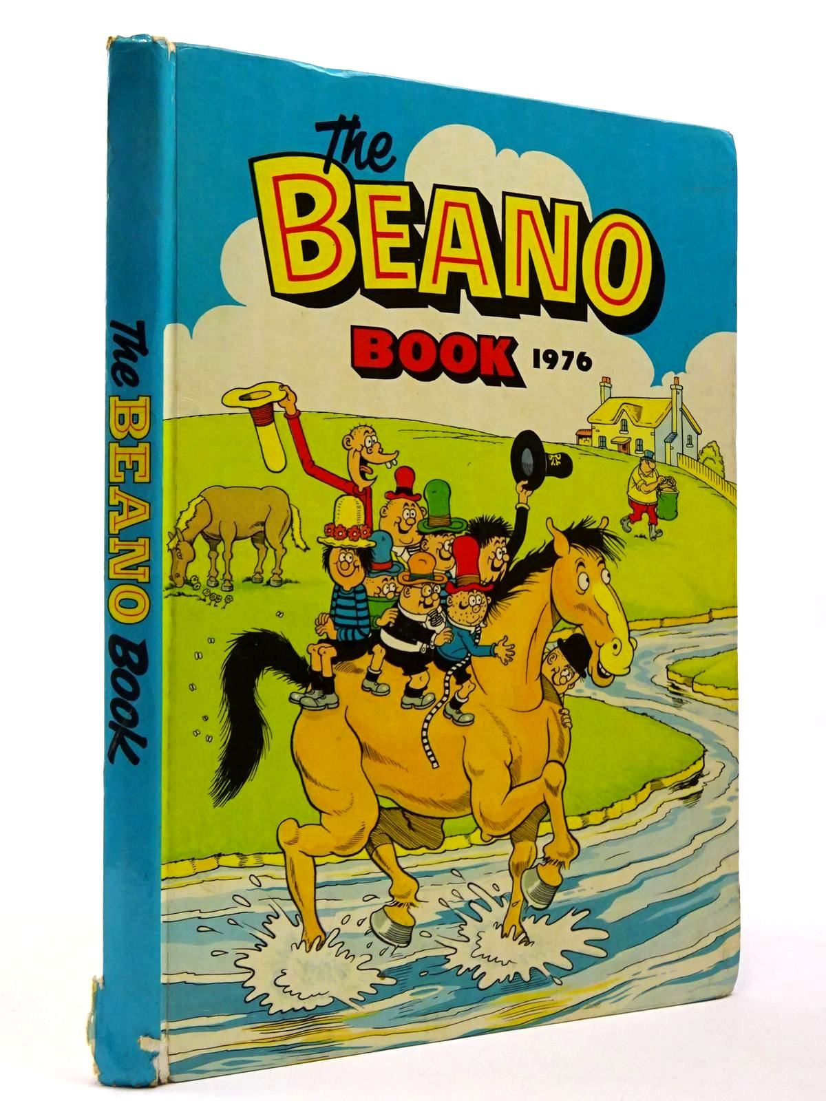 Photo of THE BEANO BOOK 1976 published by D.C. Thomson & Co Ltd. (STOCK CODE: 2129729)  for sale by Stella & Rose's Books