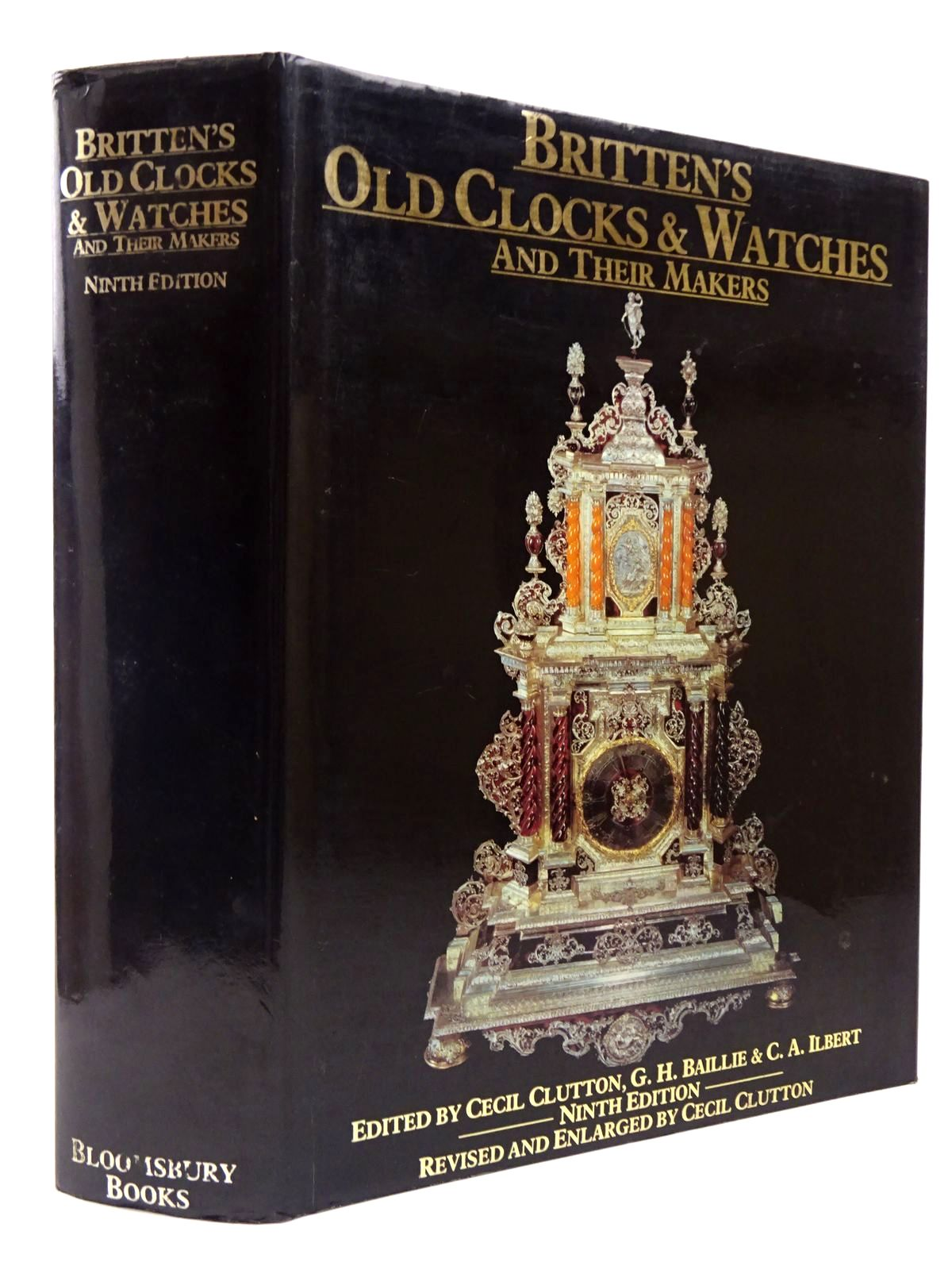 Photo of BRITTEN'S OLD CLOCKS AND WATCHES AND THEIR MAKERS written by Baillie, G.H.<br />Clutton, Cecil<br />Ilbert, C.A. published by Bloomsbury Books (STOCK CODE: 2129779)  for sale by Stella & Rose's Books