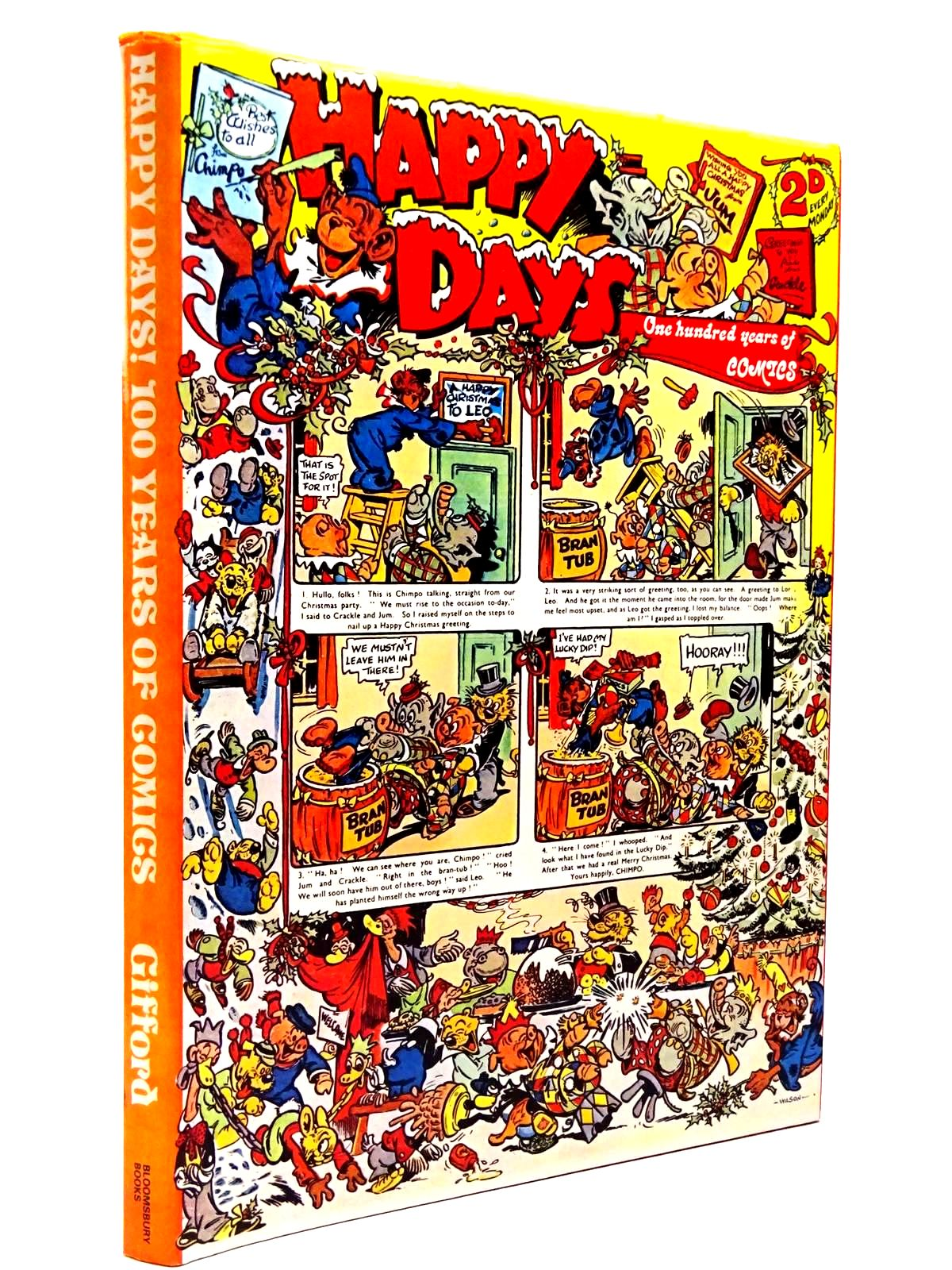 Photo of HAPPY DAYS A CENTURY OF COMICS written by Gifford, Denis published by Bloomsbury Books (STOCK CODE: 2129793)  for sale by Stella & Rose's Books
