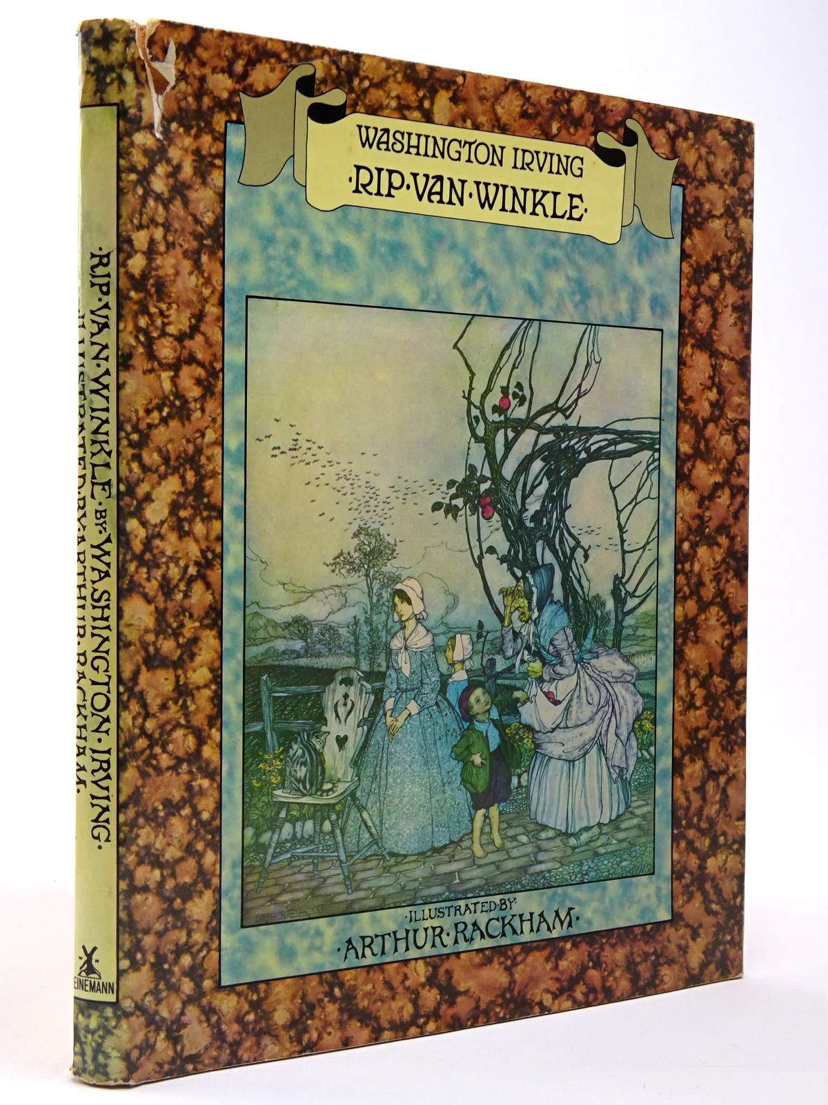 Photo of RIP VAN WINKLE written by Irving, Washington illustrated by Rackham, Arthur published by Heinemann (STOCK CODE: 2129796)  for sale by Stella & Rose's Books
