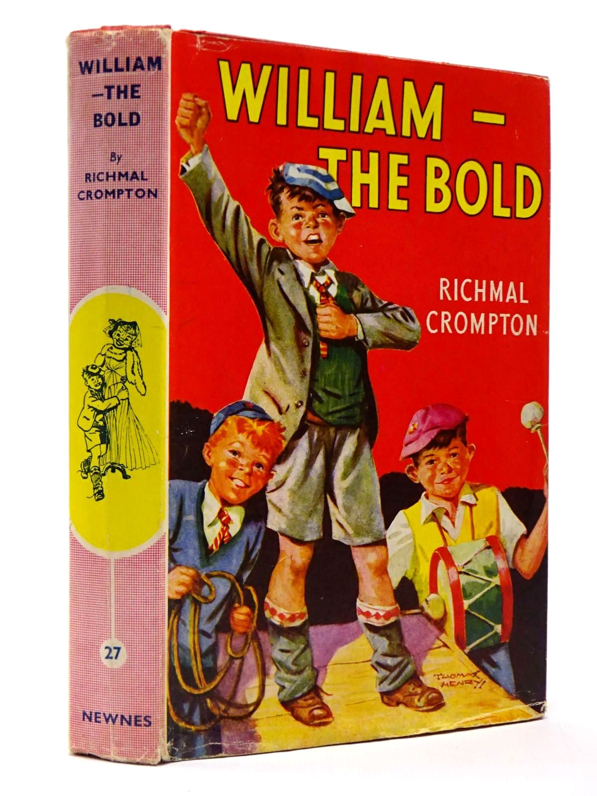 Photo of WILLIAM-THE BOLD written by Crompton, Richmal illustrated by Henry, Thomas published by George Newnes Ltd. (STOCK CODE: 2129807)  for sale by Stella & Rose's Books