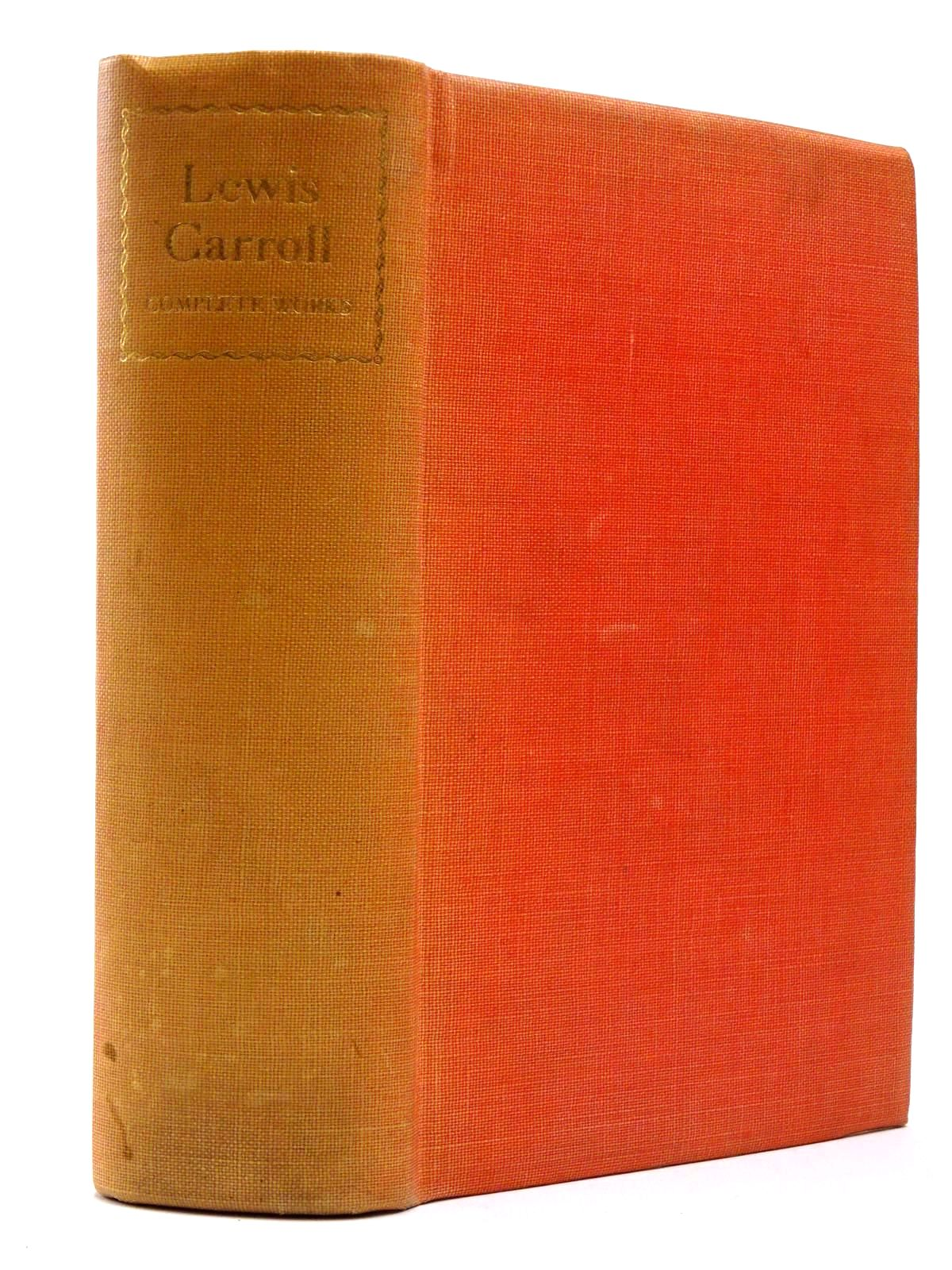 Photo of THE COMPLETE WORKS OF LEWIS CARROLL written by Carroll, Lewis illustrated by Tenniel, John published by The Nonesuch Press (STOCK CODE: 2129810)  for sale by Stella & Rose's Books