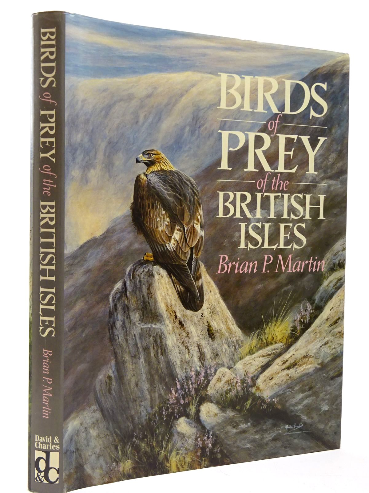 Photo of BIRDS OF PREY OF THE BRITISH ISLES written by Martin, Brian P. illustrated by Prout, Alastair published by David & Charles (STOCK CODE: 2129817)  for sale by Stella & Rose's Books
