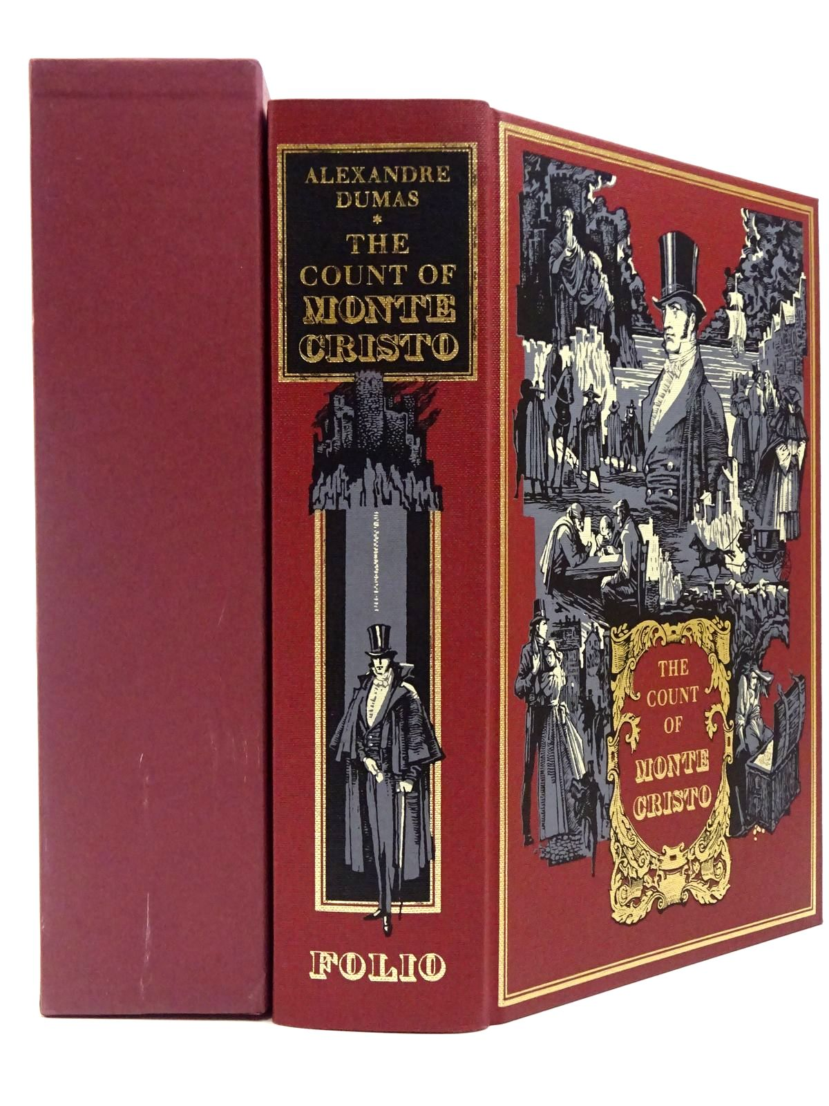 Photo of THE COUNT OF MONTE CRISTO written by Dumas, Alexandre<br />Mortimer, John illustrated by Pisarev, Roman published by Folio Society (STOCK CODE: 2129910)  for sale by Stella & Rose's Books