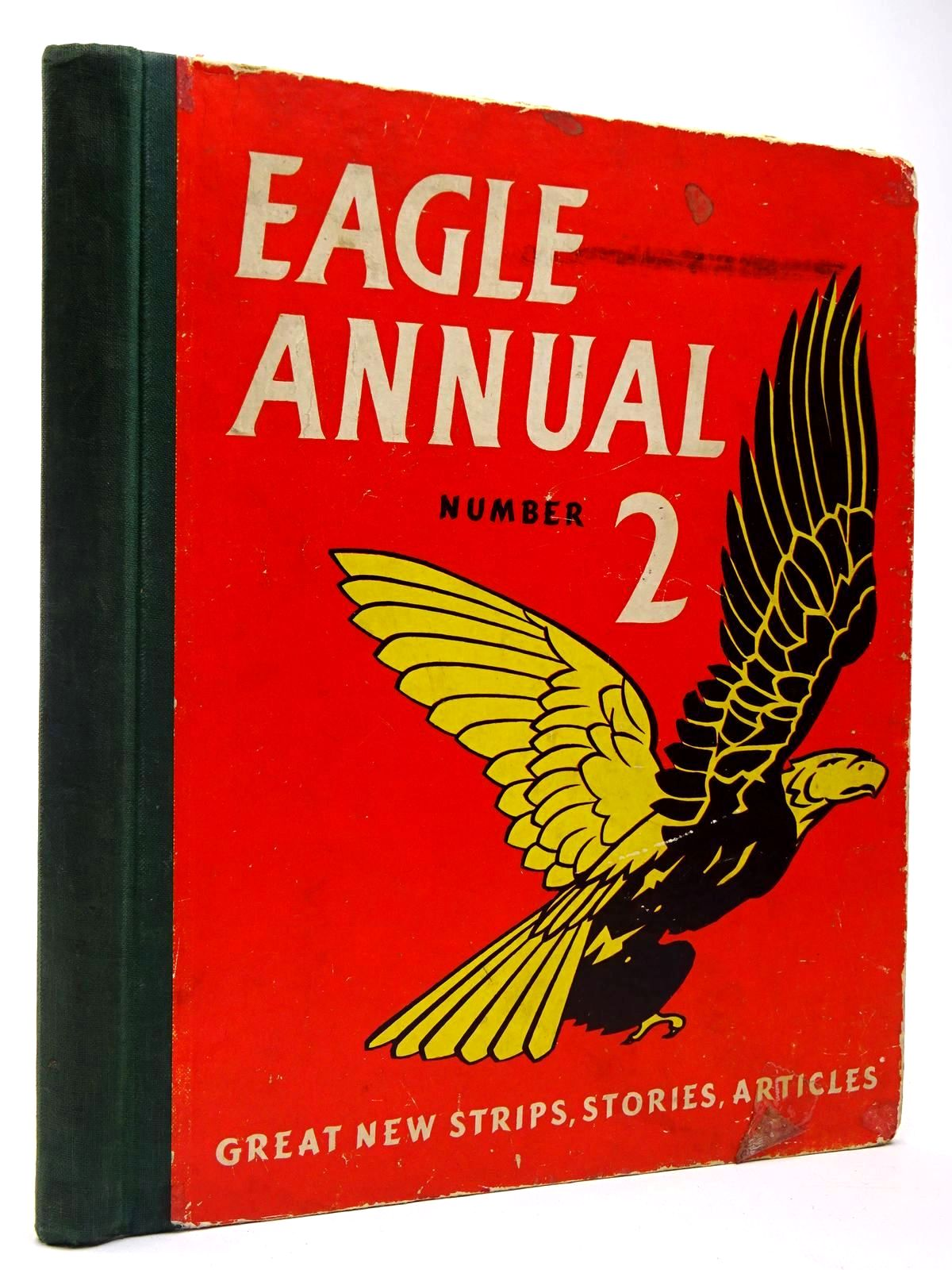 Photo of EAGLE ANNUAL No. 2 written by Morris, Marcus<br />Johns, W.E.<br />et al,  published by Hulton Press Ltd. (STOCK CODE: 2129938)  for sale by Stella & Rose's Books