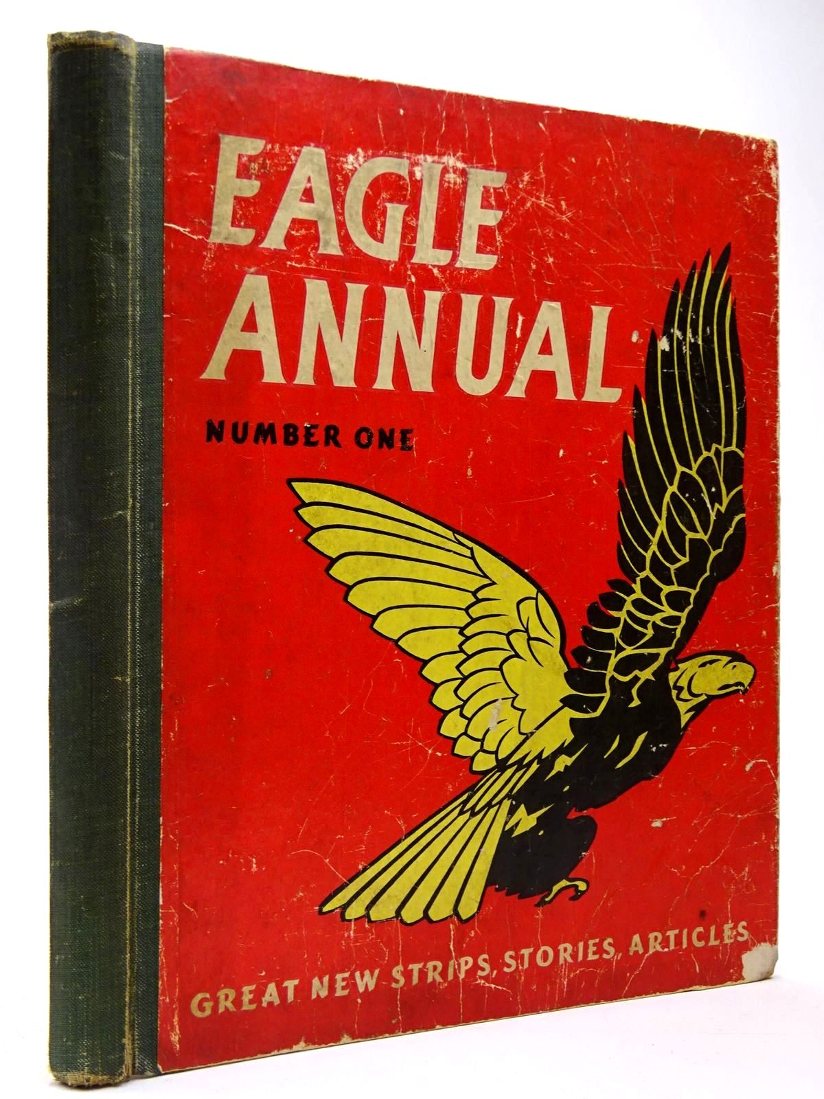 Photo of EAGLE ANNUAL No. 1 written by Morris, Marcus published by Hulton Press Ltd. (STOCK CODE: 2129939)  for sale by Stella & Rose's Books