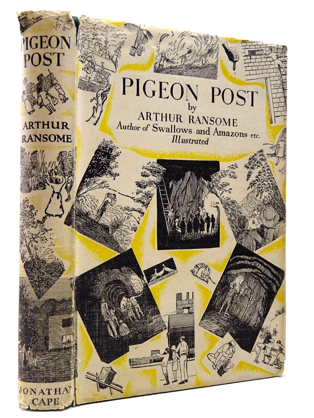 Photo of PIGEON POST written by Ransome, Arthur illustrated by Ransome, Arthur published by Jonathan Cape (STOCK CODE: 2129958)  for sale by Stella & Rose's Books