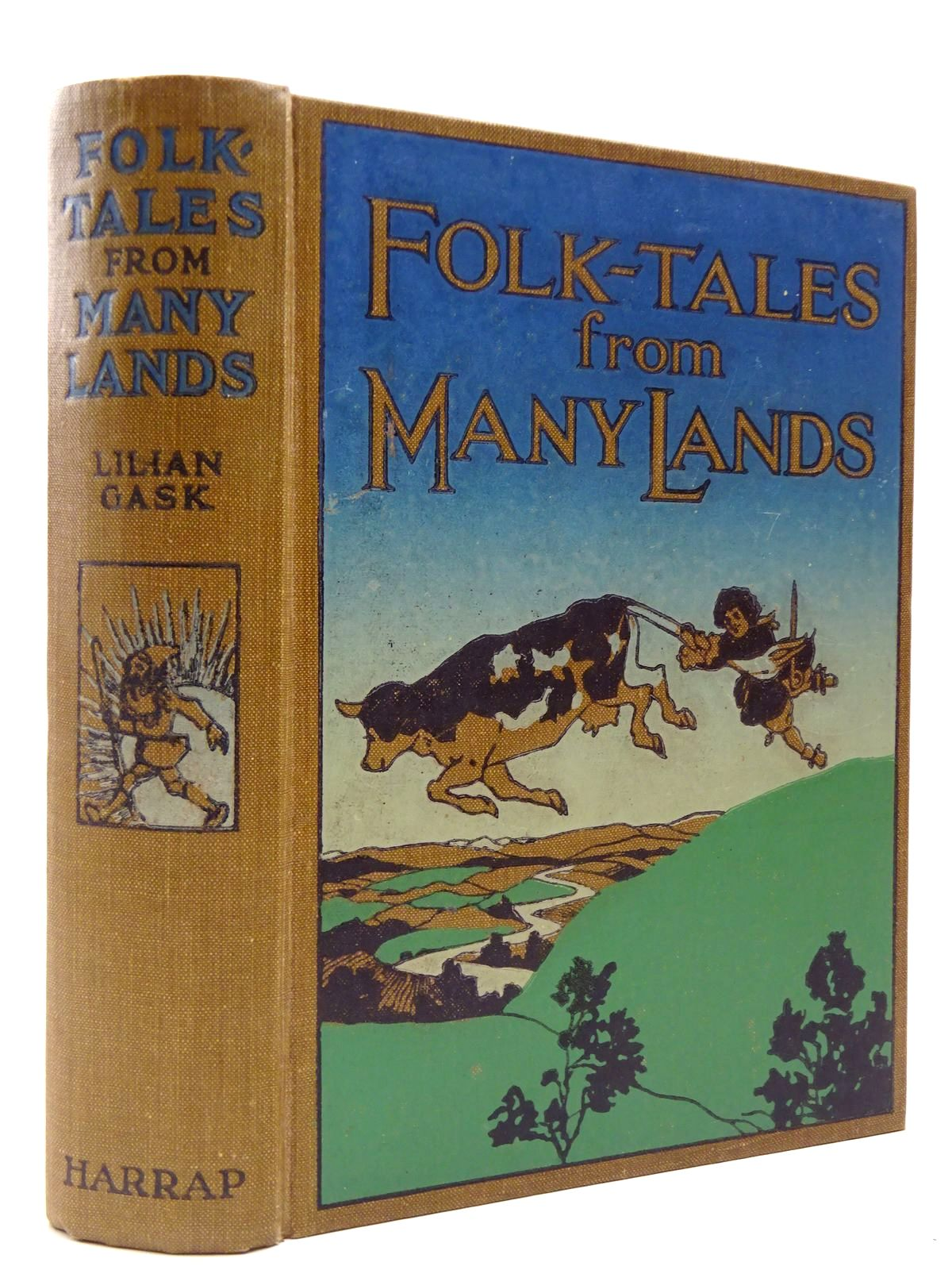 Photo of FOLK TALES FROM MANY LANDS written by Gask, Lilian illustrated by Pogany, Willy published by George G. Harrap & Co. Ltd. (STOCK CODE: 2129972)  for sale by Stella & Rose's Books