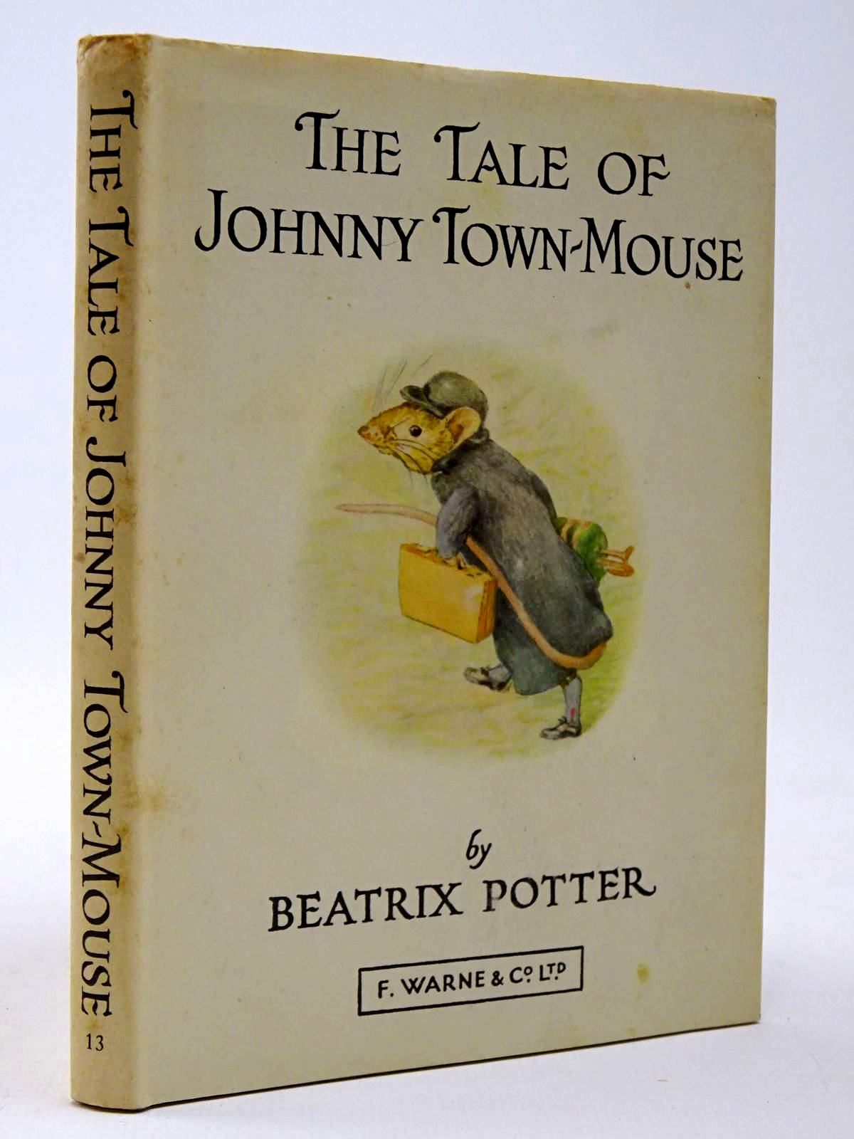 Photo of THE TALE OF JOHNNY TOWN-MOUSE written by Potter, Beatrix illustrated by Potter, Beatrix published by Frederick Warne & Co Ltd. (STOCK CODE: 2129992)  for sale by Stella & Rose's Books