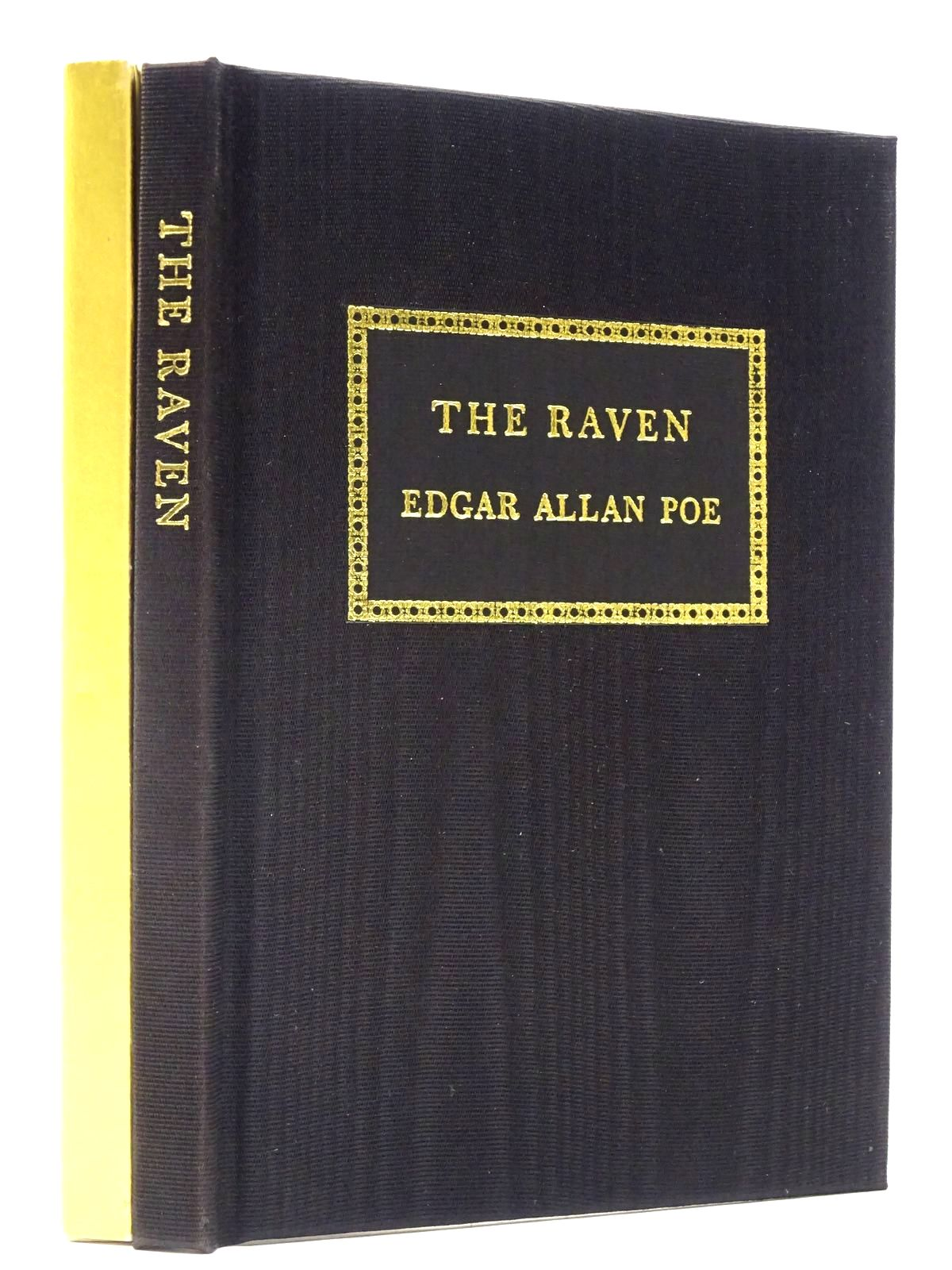 Photo of THE RAVEN written by Poe, Edgar Allan illustrated by Tute, George published by Folio Society (STOCK CODE: 2130028)  for sale by Stella & Rose's Books