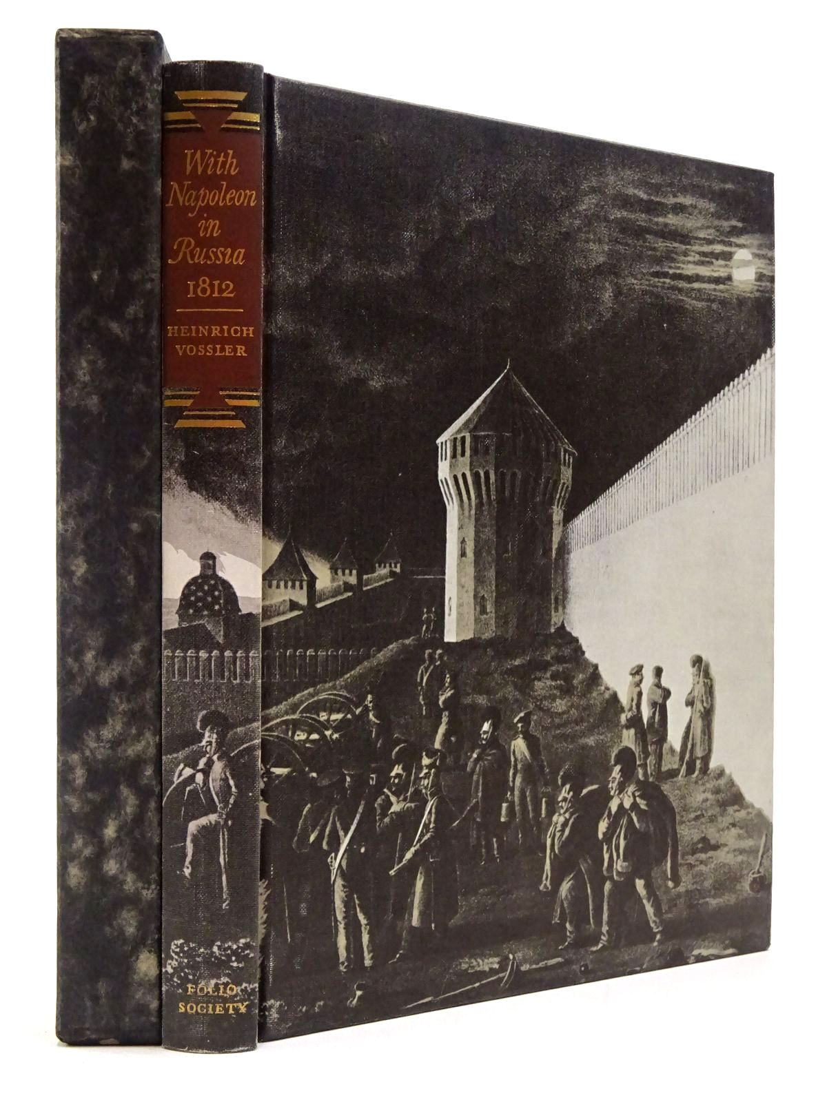 Photo of WITH NAPOLEON IN RUSSIA 1812 written by Vossler, H.A.<br />Wallich, Walter illustrated by Von Faber Du Faur, Christian-Wilhelm published by Folio Society (STOCK CODE: 2130040)  for sale by Stella & Rose's Books