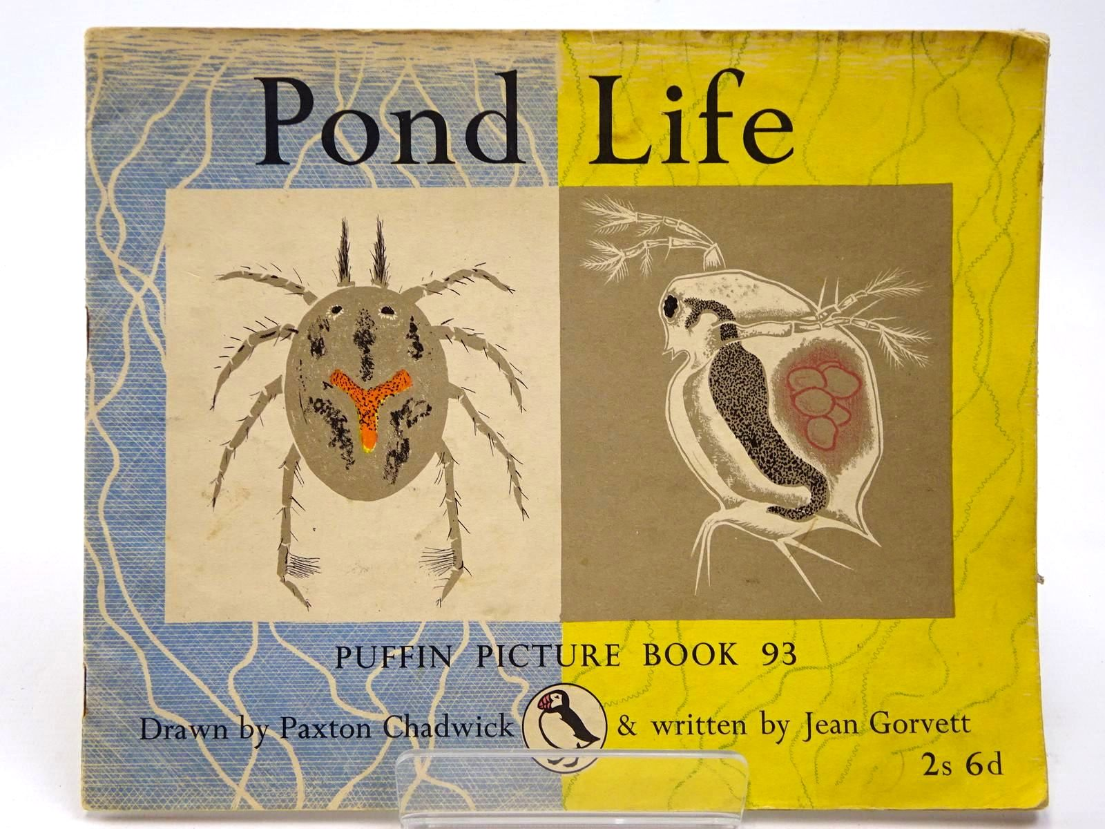 Photo of POND LIFE written by Gorvett, Jean illustrated by Chadwick, Paxton published by Penguin (STOCK CODE: 2130047)  for sale by Stella & Rose's Books