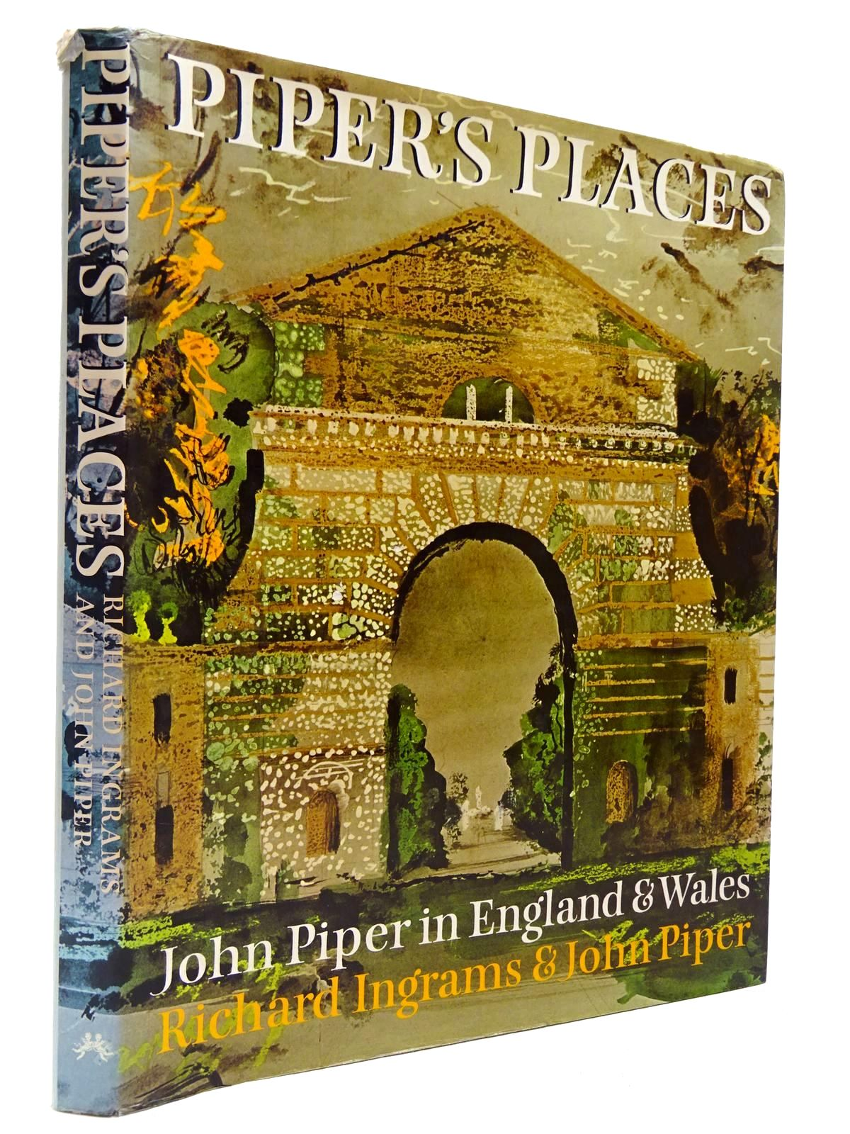 Photo of PIPER'S PLACES written by Ingrams, Richard<br />Piper, John illustrated by Piper, John published by Chatto & Windus, The Hogarth Press (STOCK CODE: 2130051)  for sale by Stella & Rose's Books