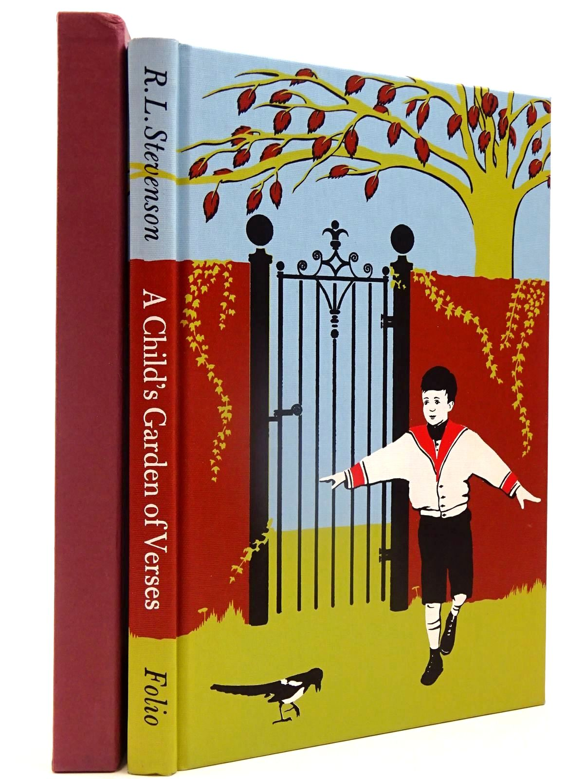 Photo of A CHILD'S GARDEN OF VERSES written by Stevenson, Robert Louis illustrated by Smithson, Helen published by Folio Society (STOCK CODE: 2130100)  for sale by Stella & Rose's Books